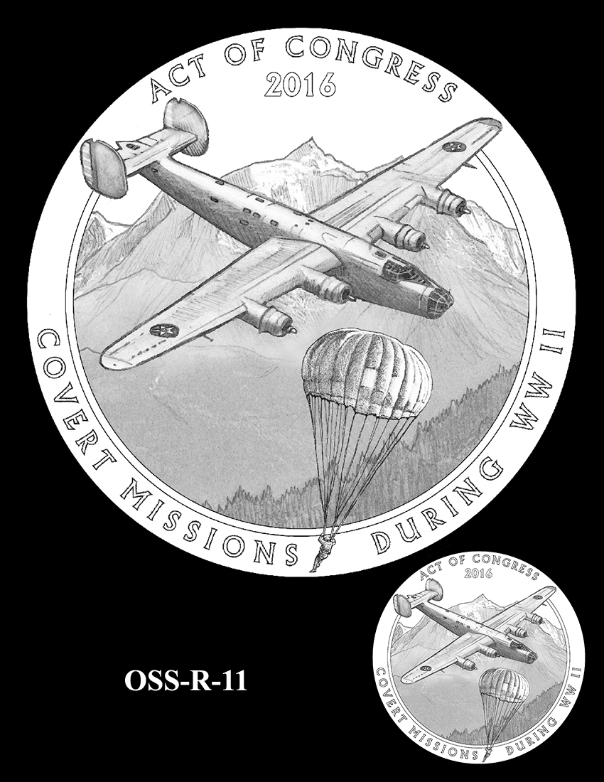 OSS-R-11 -- Office of Strategic Services Congressional Gold Medal