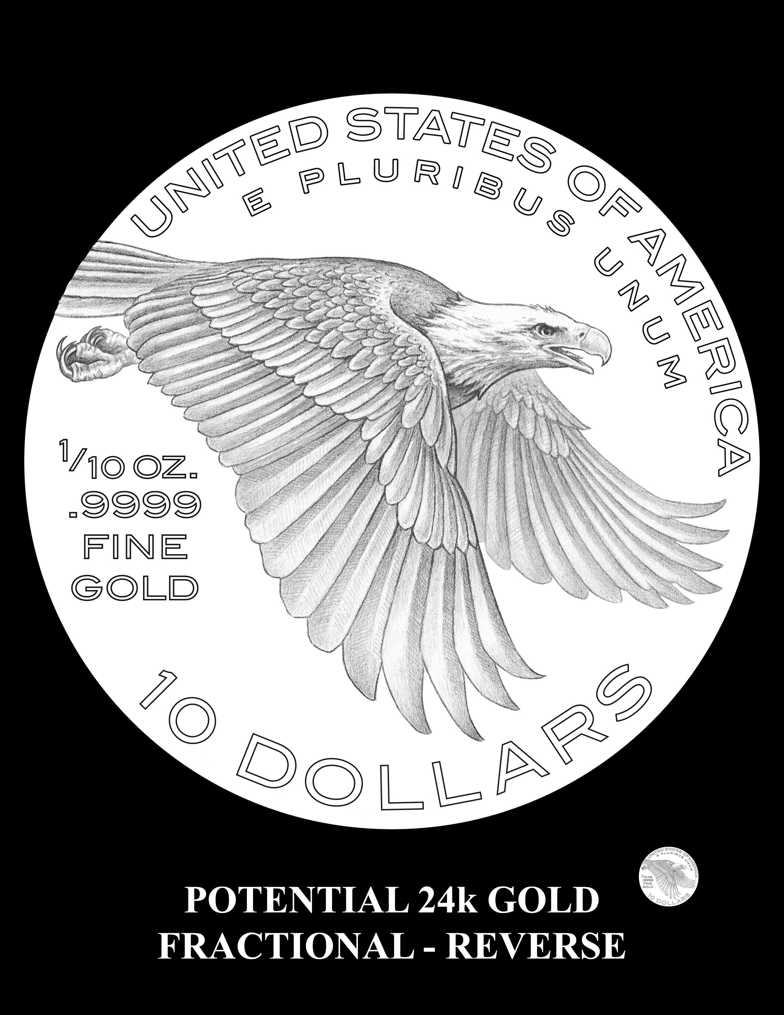 Potential-2018-ALGF-Reverse -- Potential 2018 American Liberty24k Gold Fractional Coin