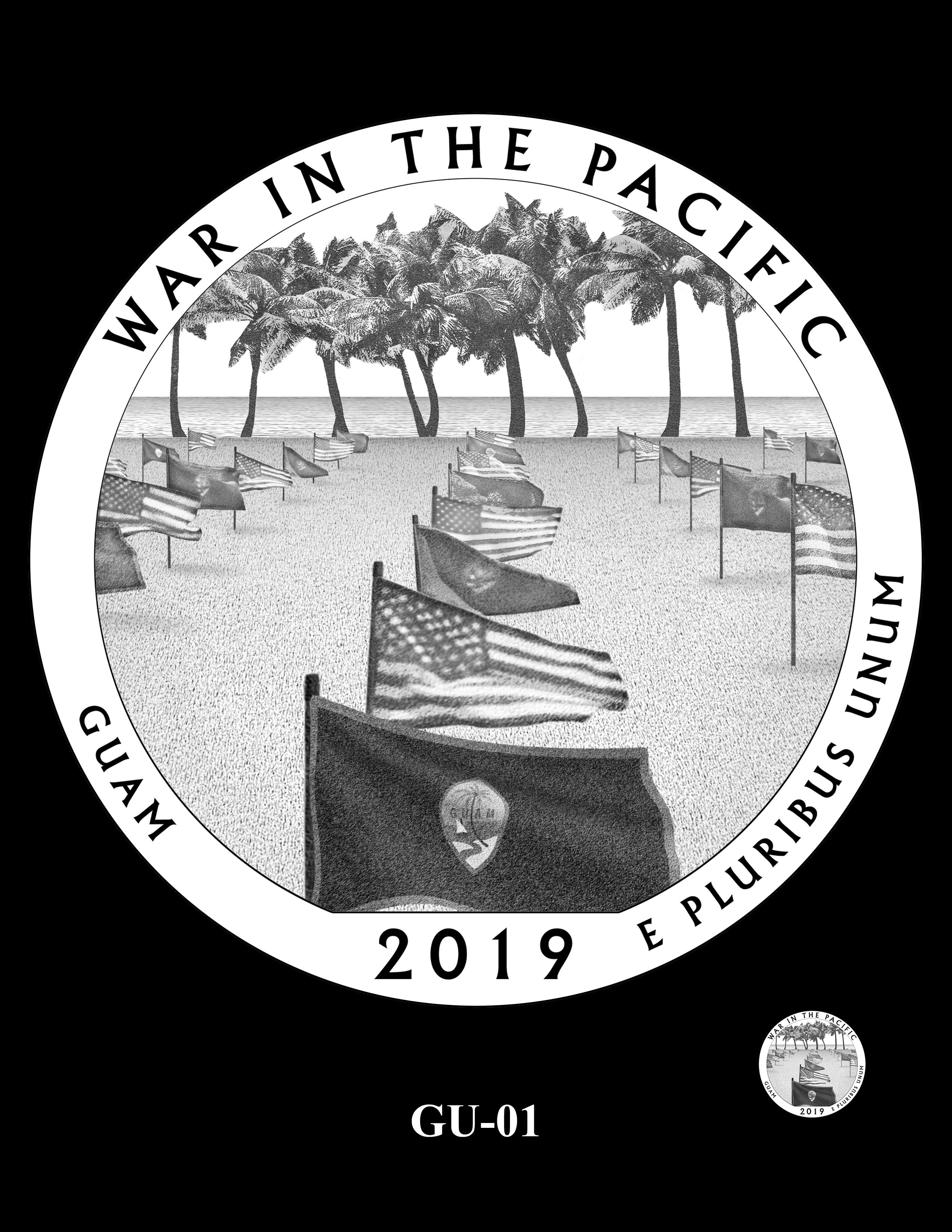 GU-01 -- 2019 America the Beautiful Quarters® Program
