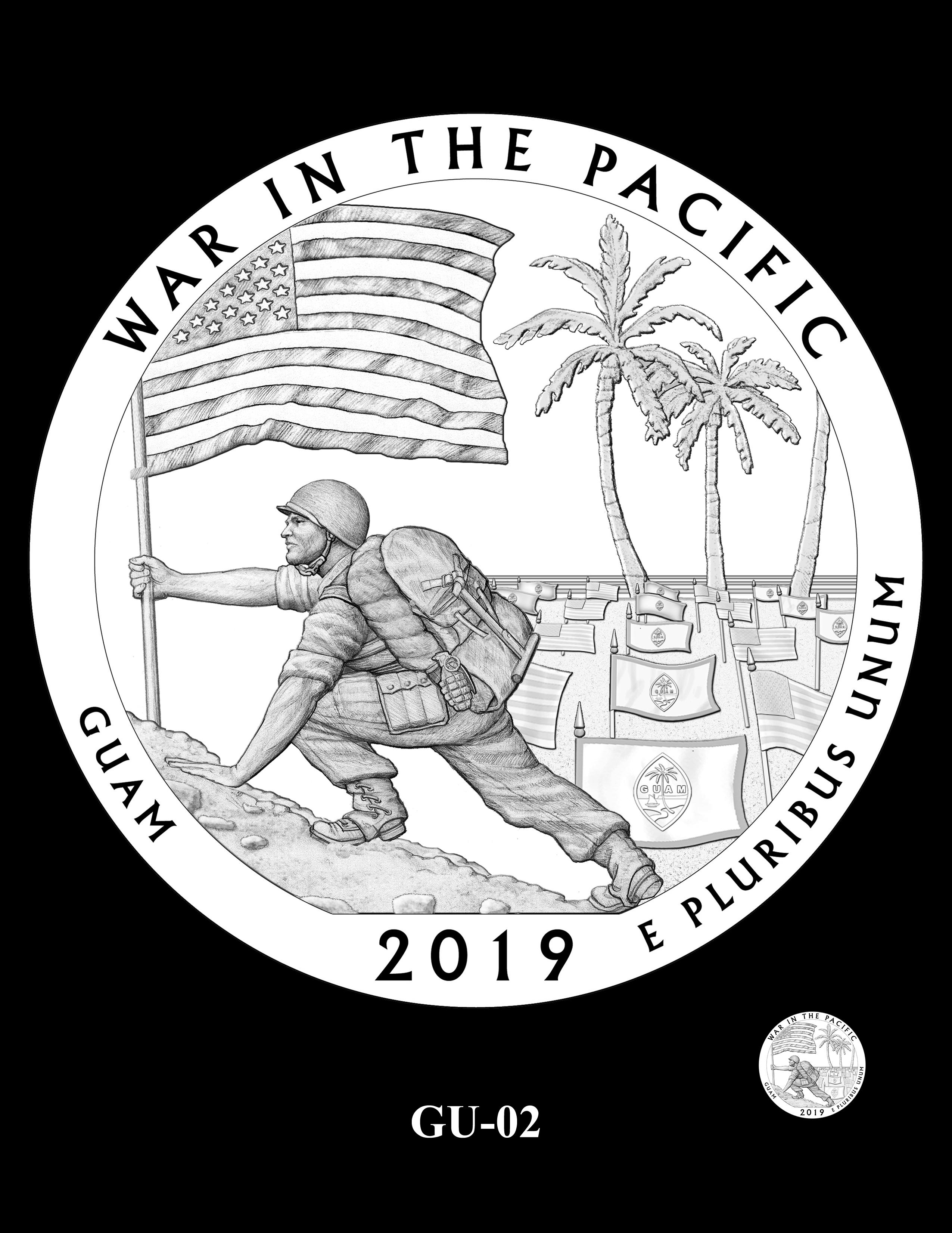 GU-02 -- 2019 America the Beautiful Quarters® Program