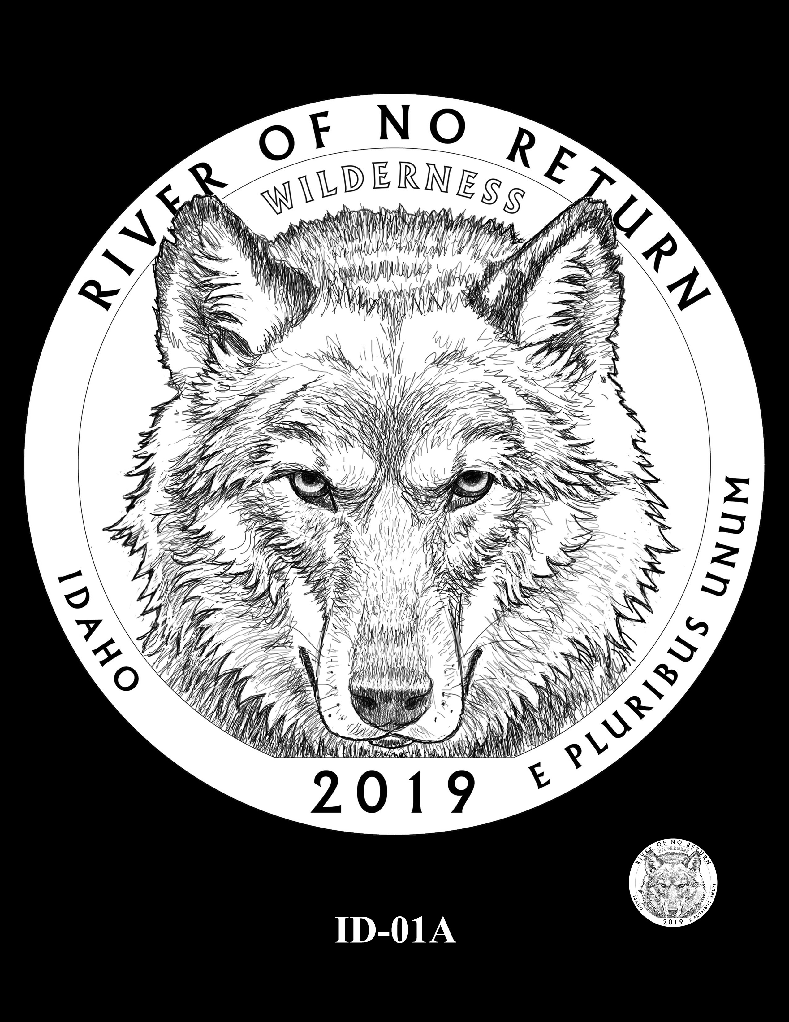 ID-01A -- 2019 America the Beautiful Quarters® Program