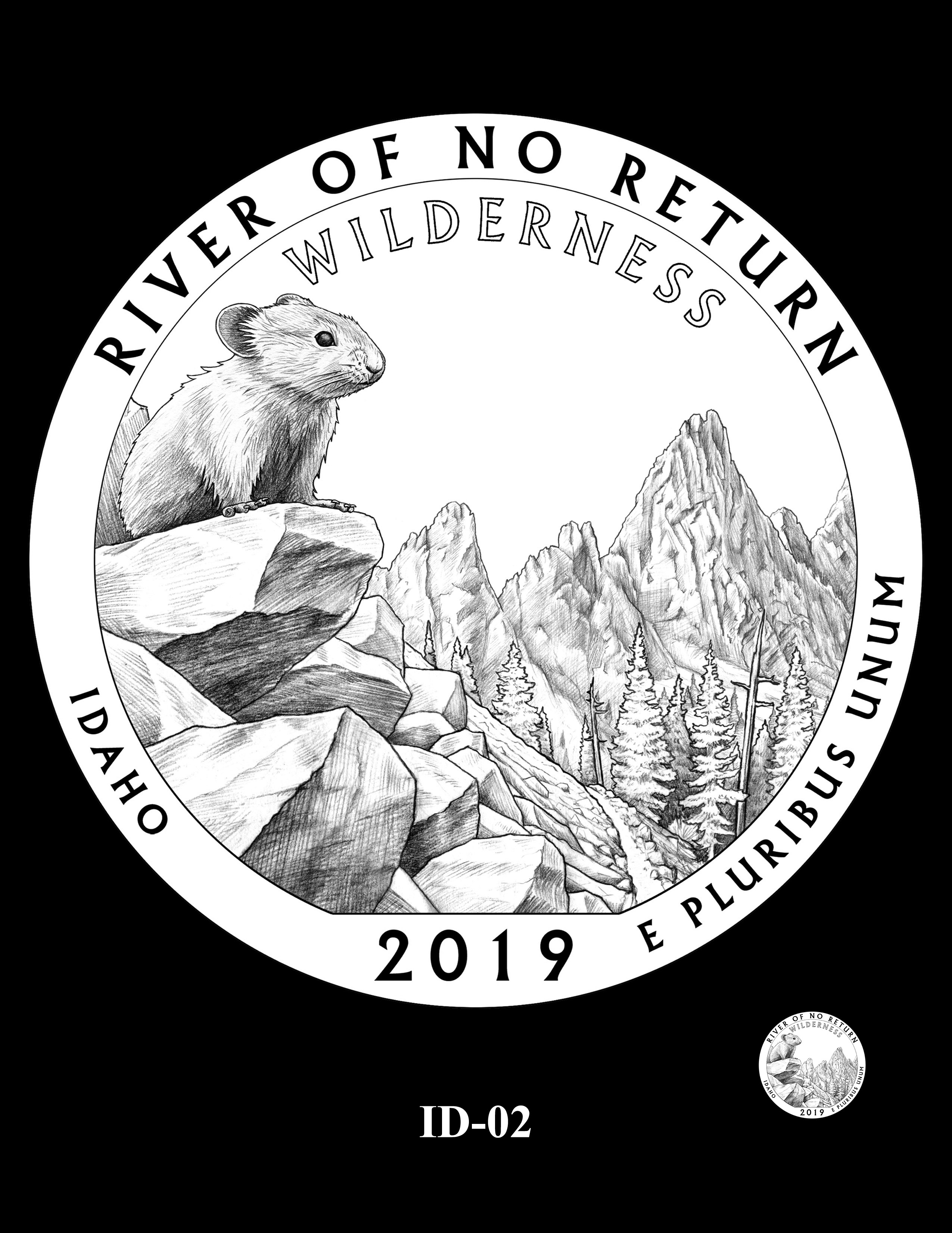 ID-02 -- 2019 America the Beautiful Quarters® Program