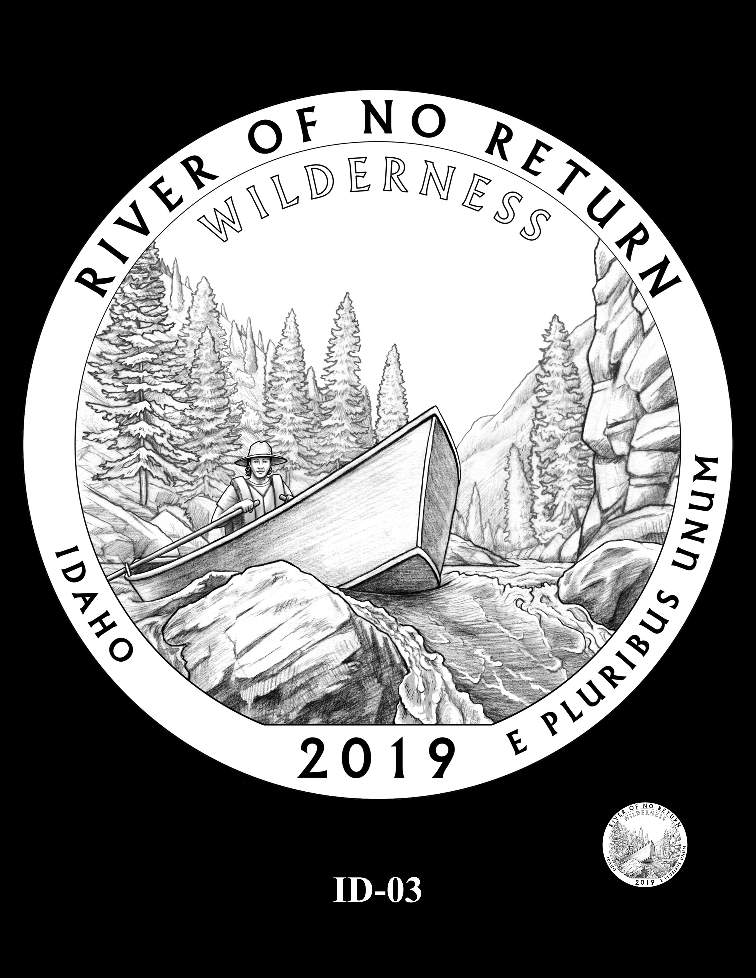 ID-03 -- 2019 America the Beautiful Quarters® Program