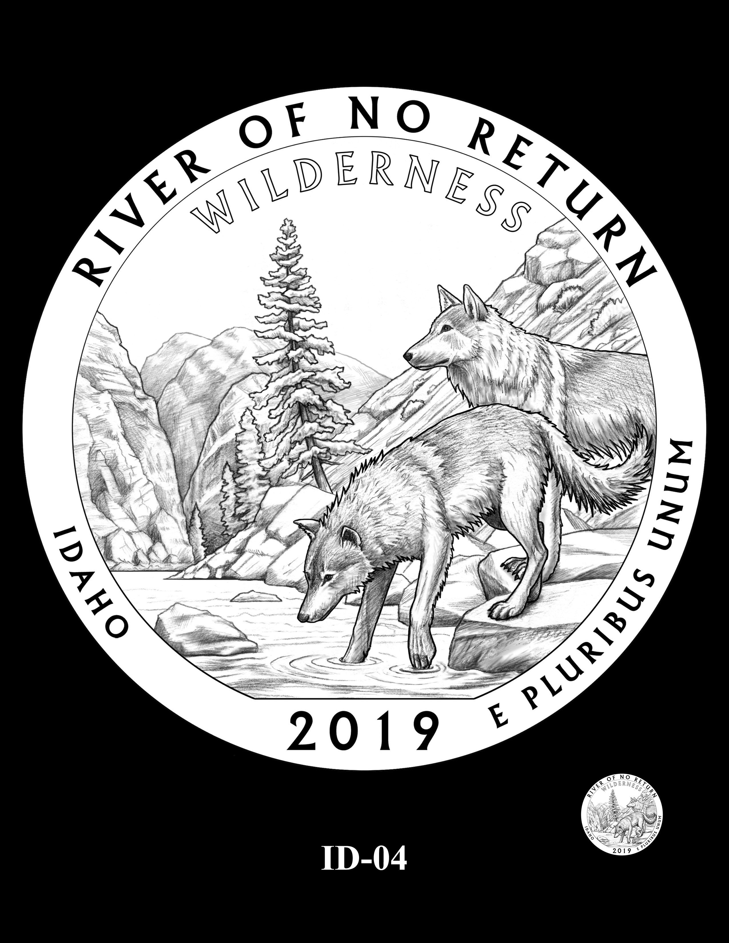 ID-04 -- 2019 America the Beautiful Quarters® Program