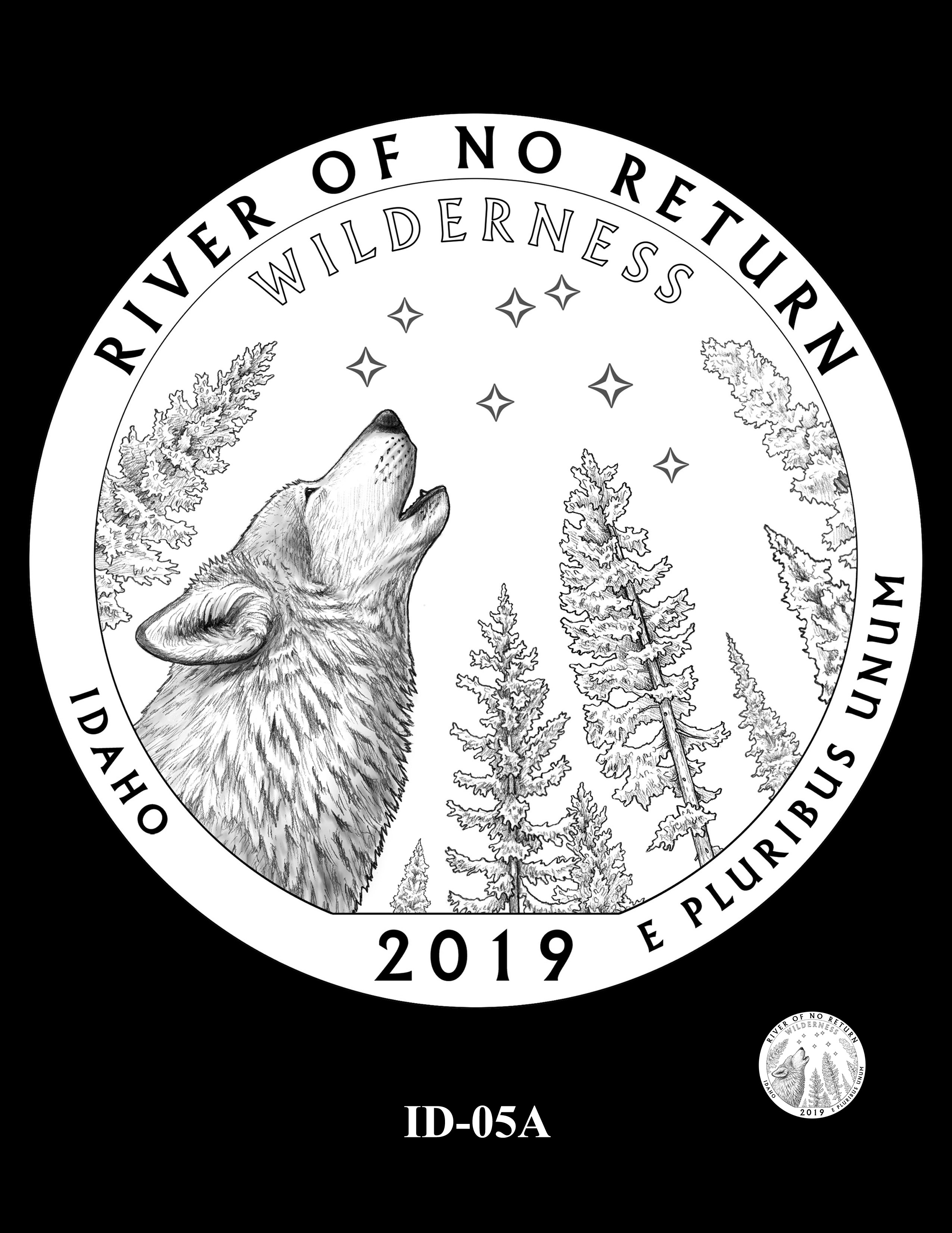 ID-05A -- 2019 America the Beautiful Quarters® Program