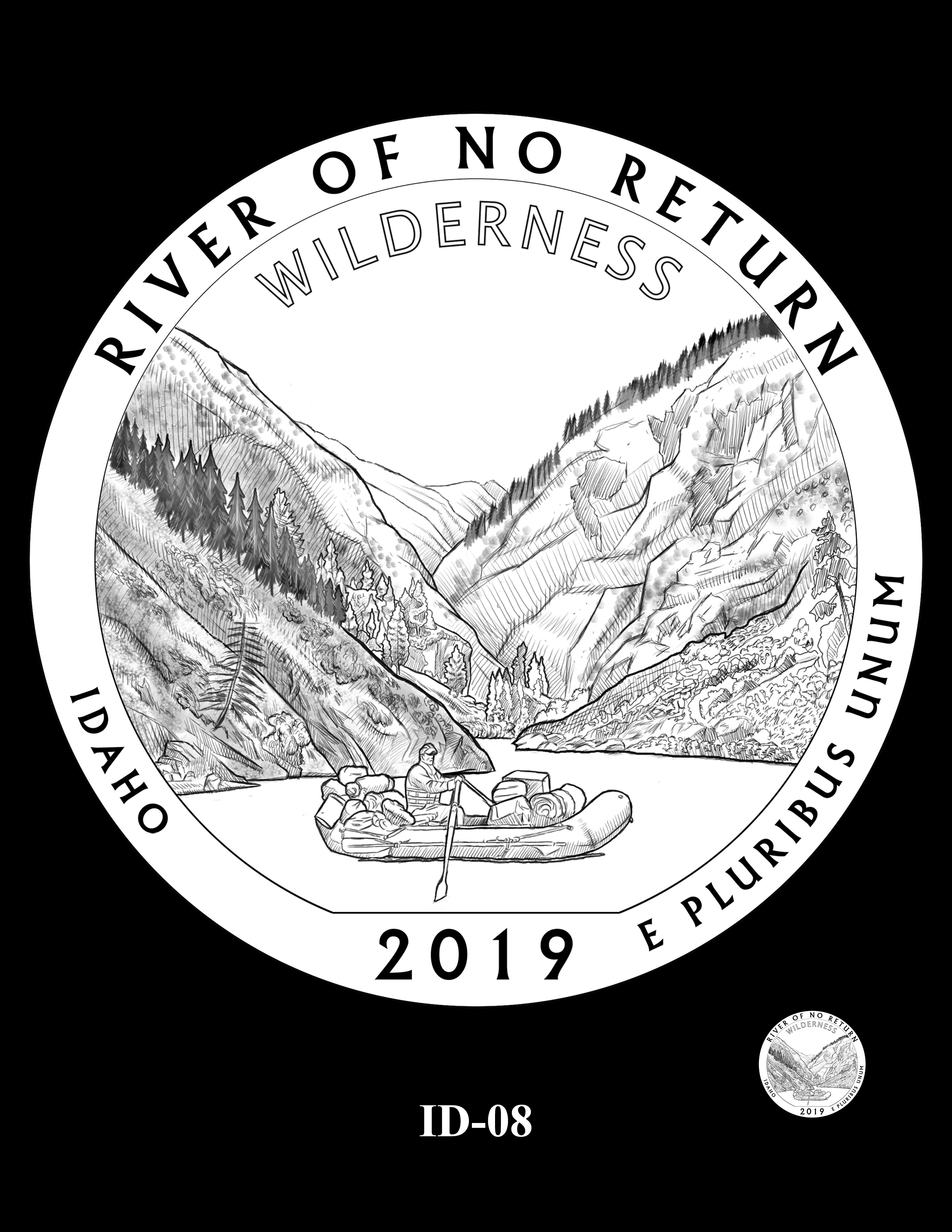 ID-08 -- 2019 America the Beautiful Quarters® Program