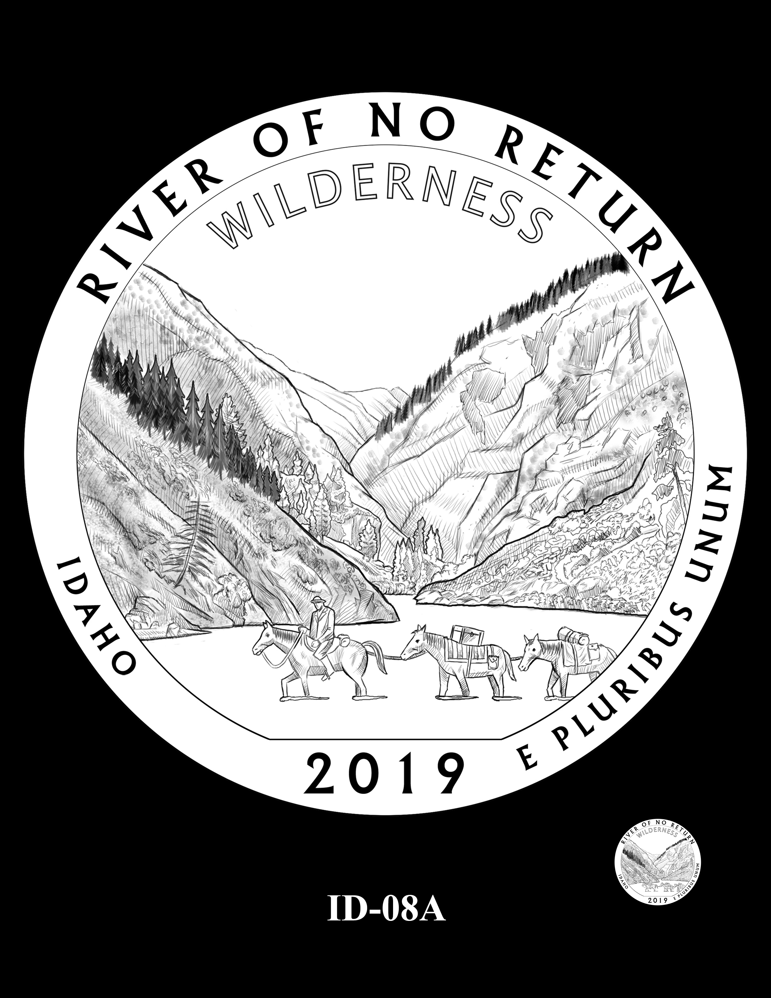 ID-08A -- 2019 America the Beautiful Quarters® Program