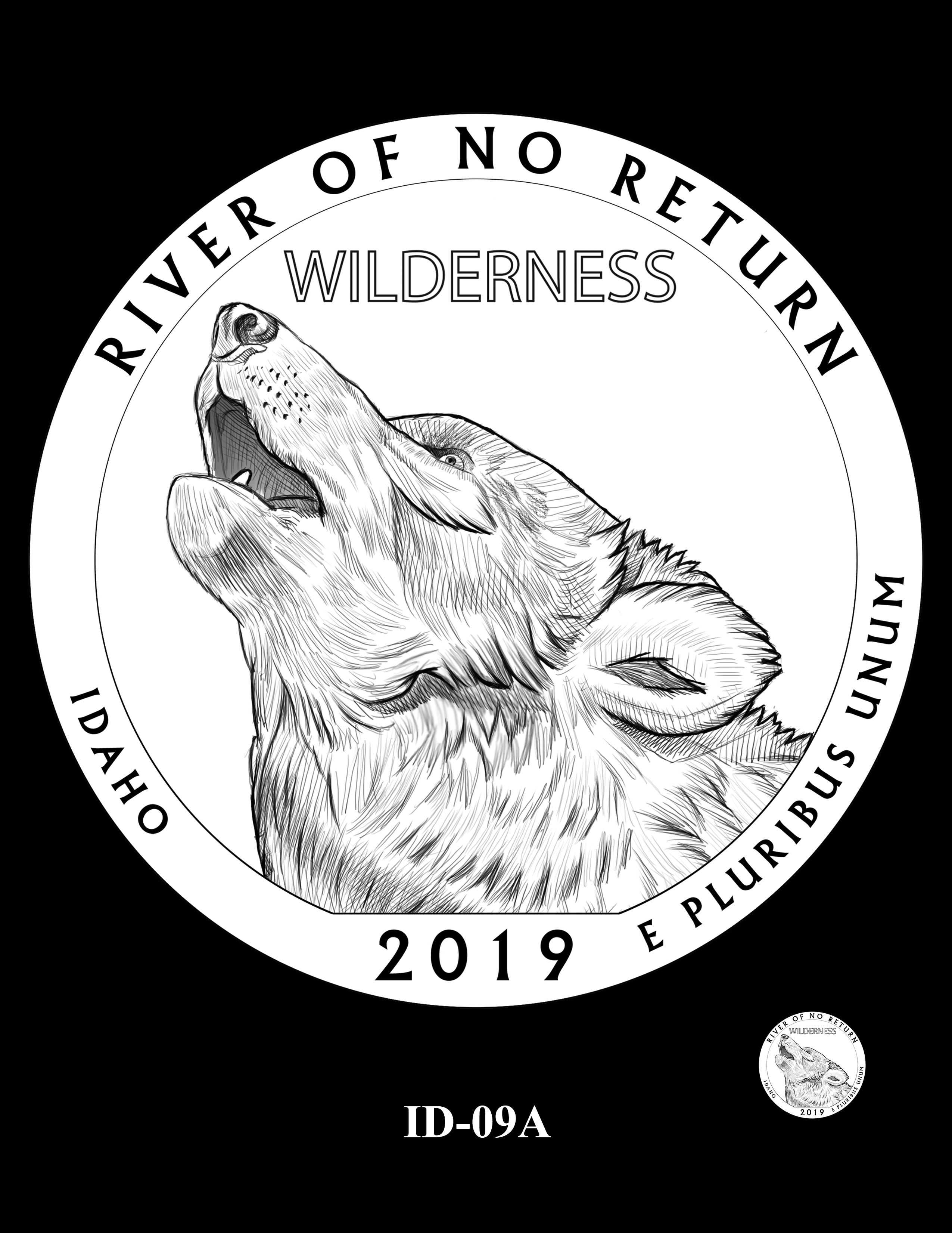ID-09A -- 2019 America the Beautiful Quarters® Program
