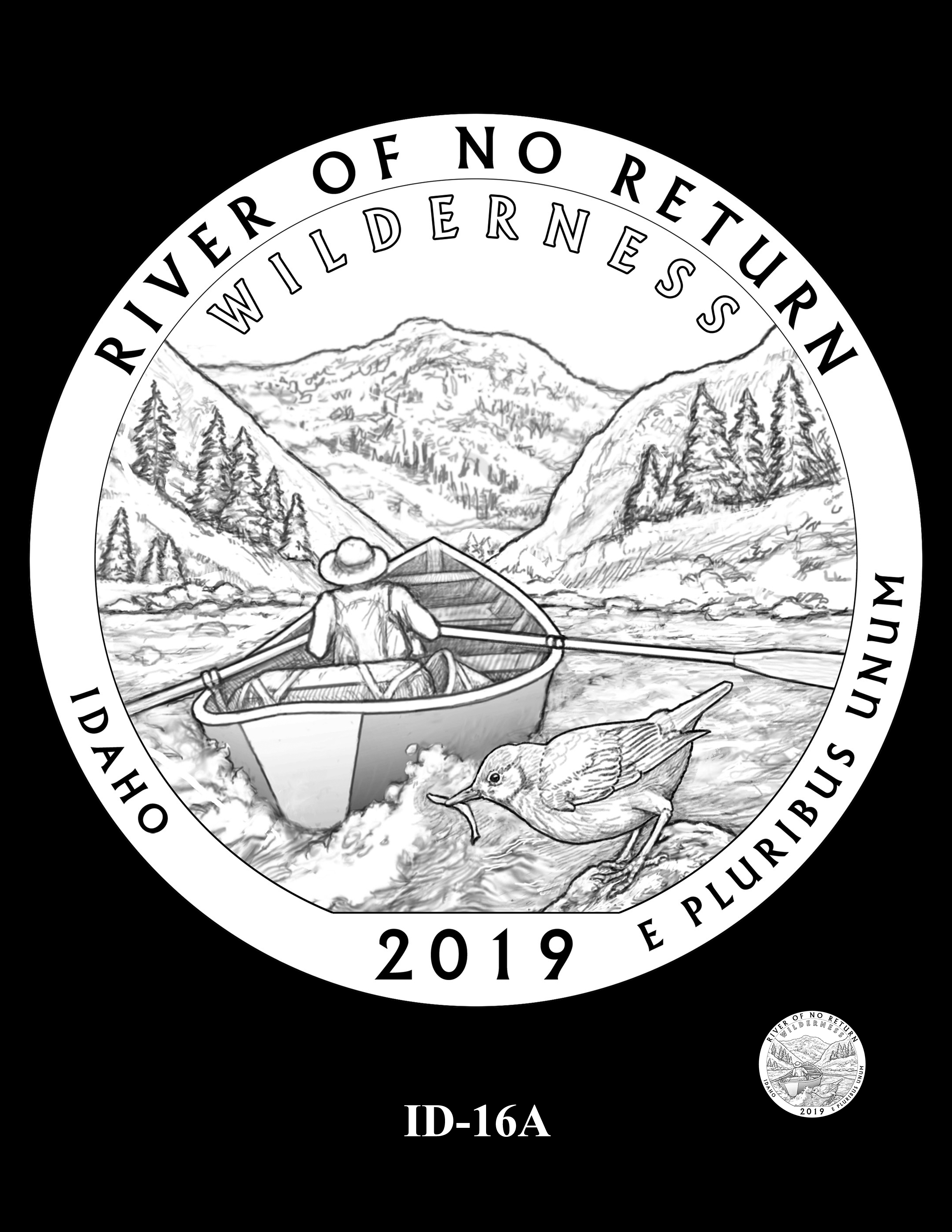 ID-16A -- 2019 America the Beautiful Quarters® Program