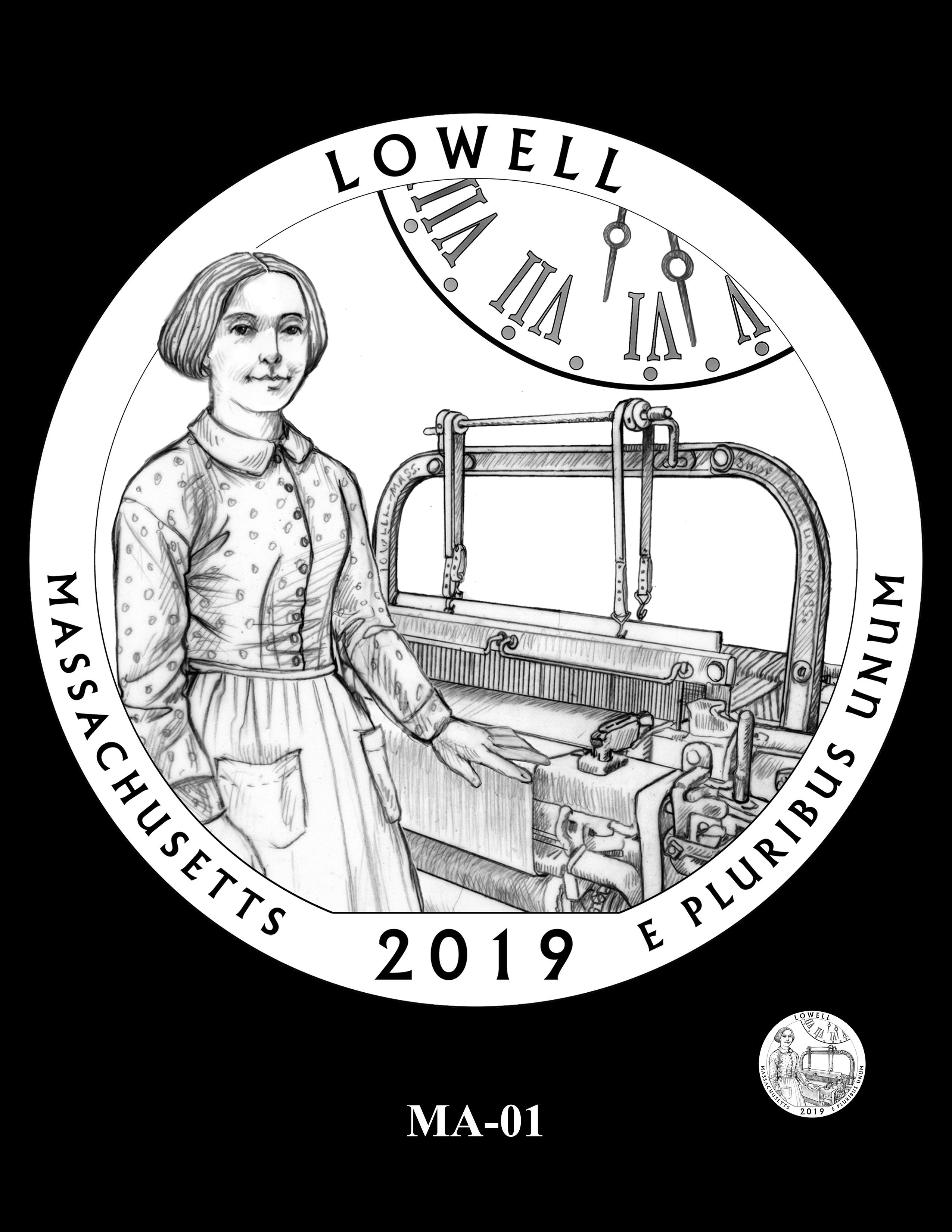 MA-01 -- 2019 America the Beautiful Quarters® Program