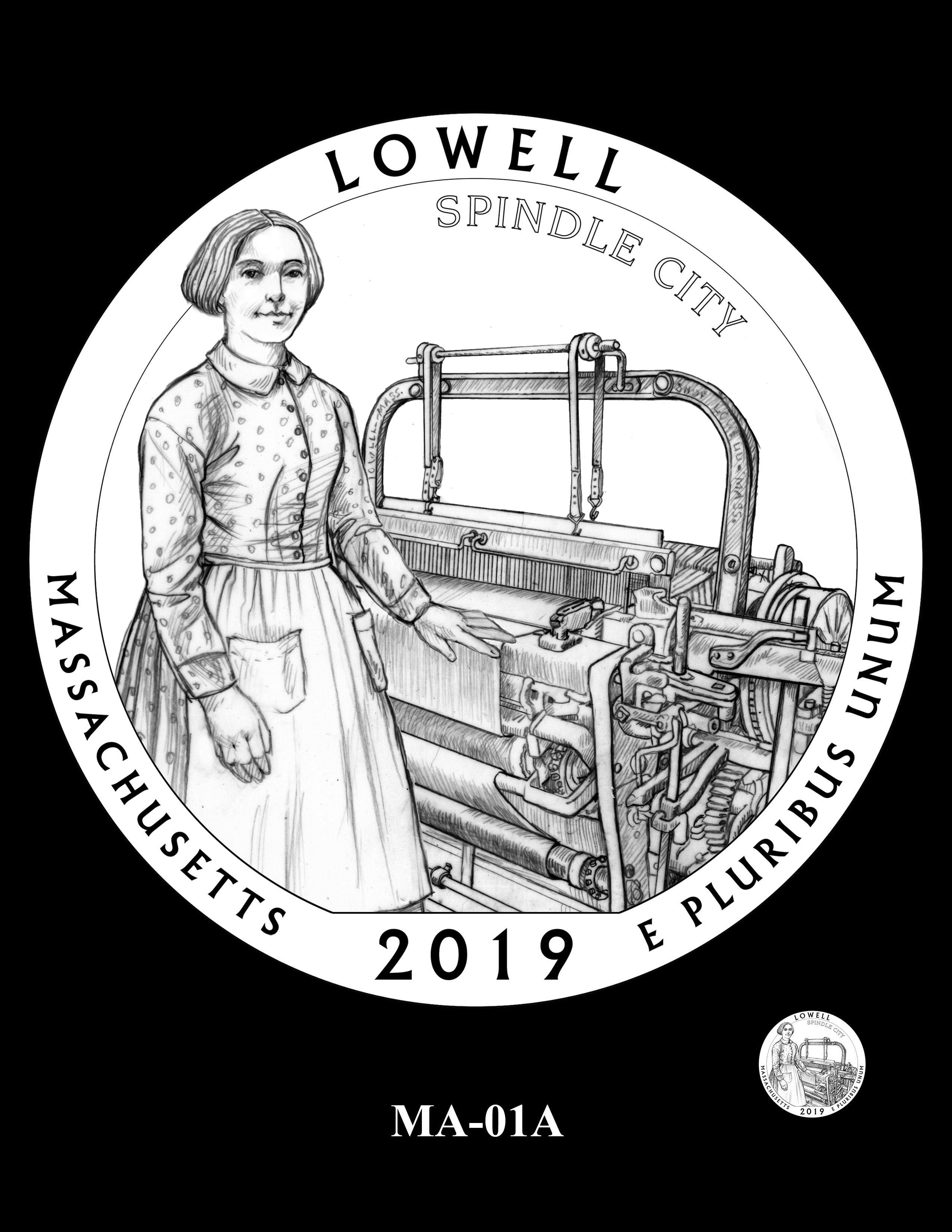 MA-01A -- 2019 America the Beautiful Quarters® Program