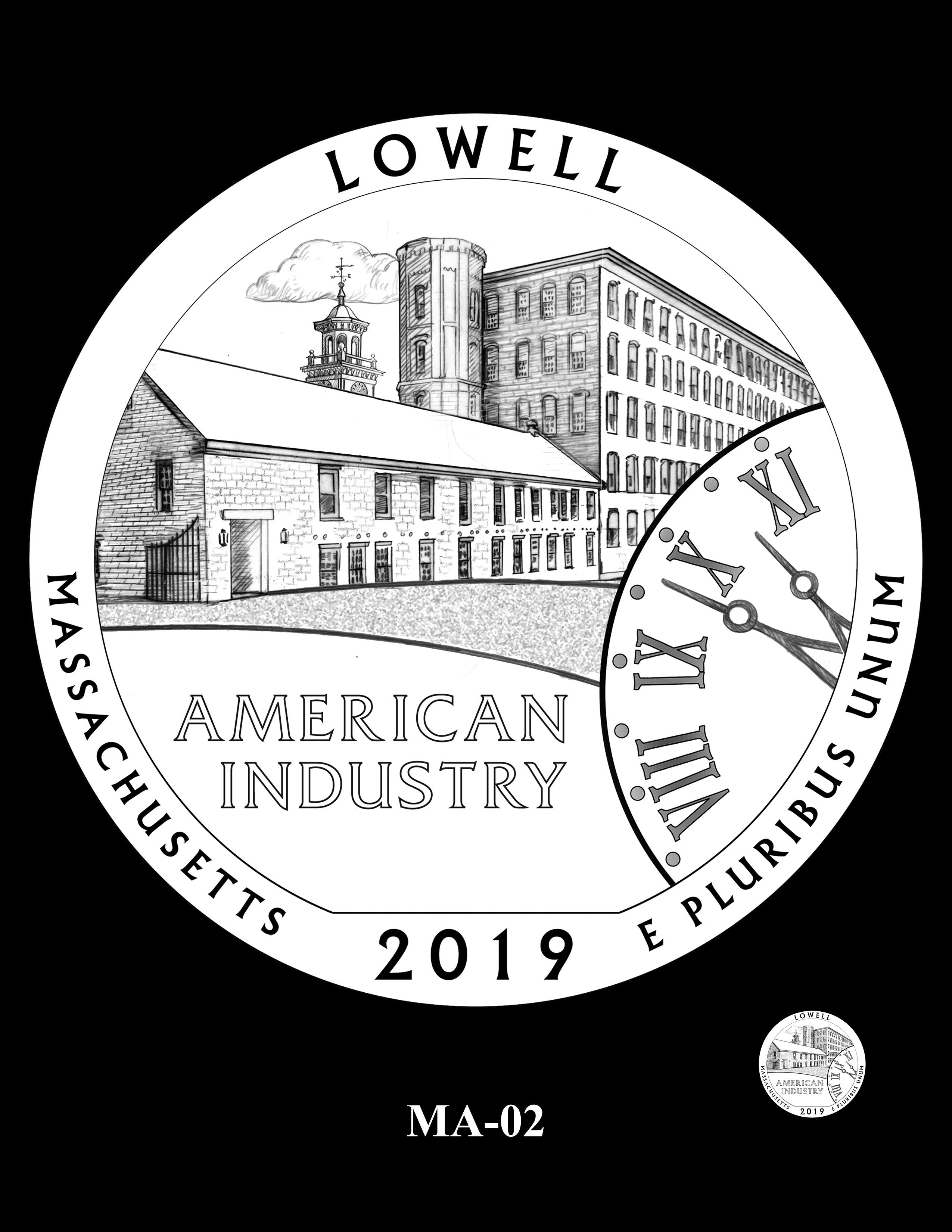 MA-02 -- 2019 America the Beautiful Quarters® Program