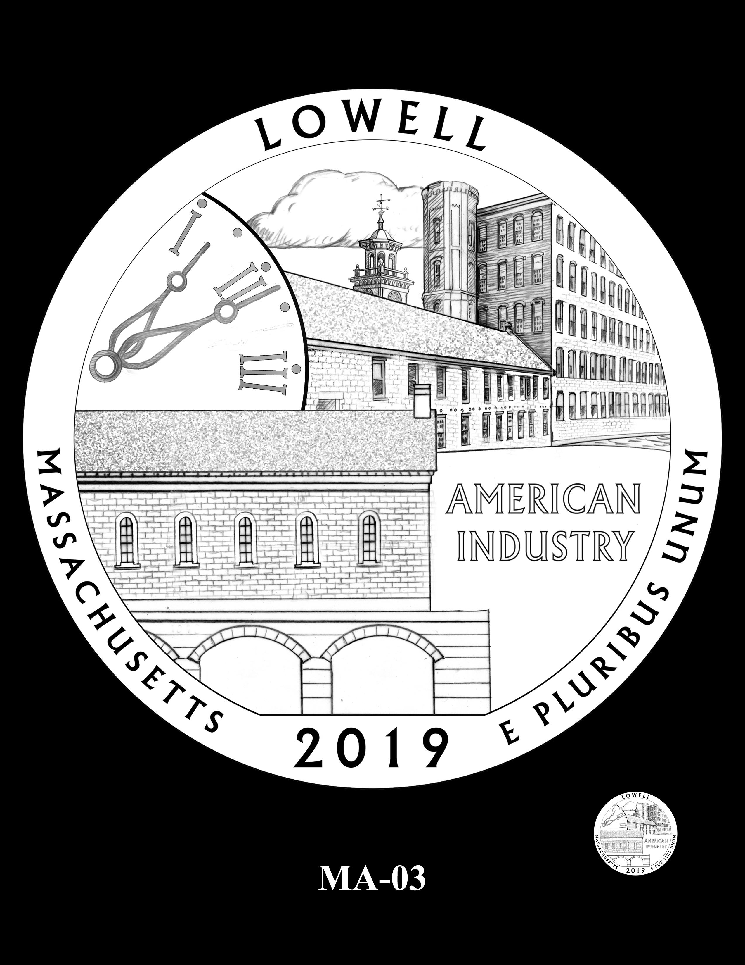 MA-03 -- 2019 America the Beautiful Quarters® Program
