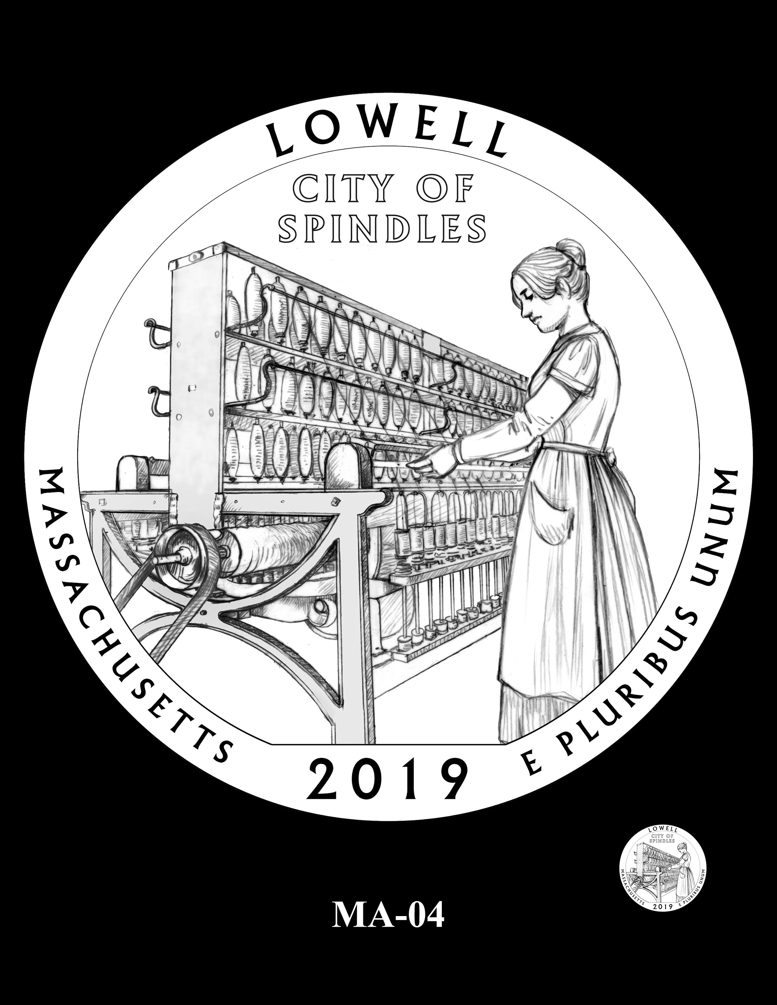 MA-04 -- 2019 America the Beautiful Quarters® Program
