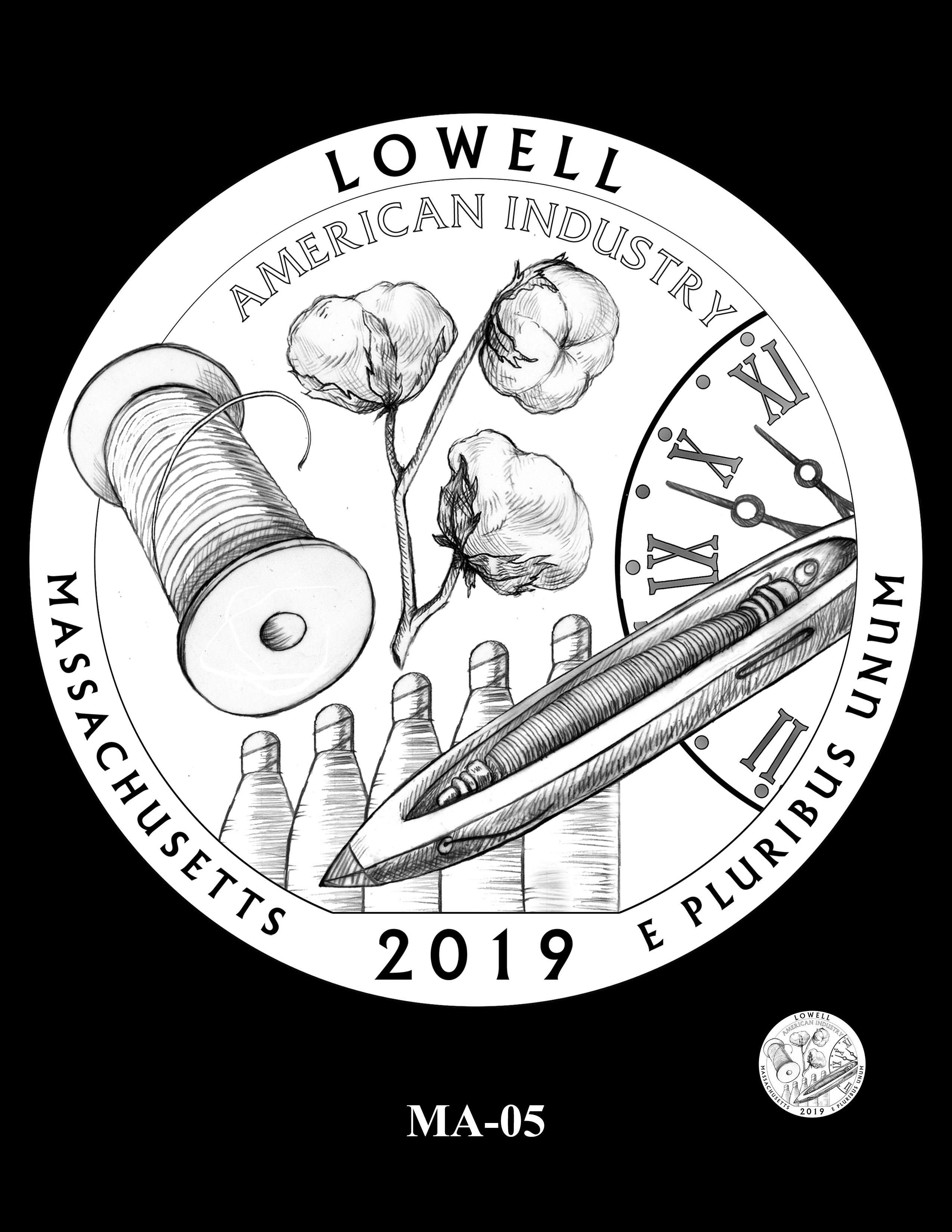MA-05 -- 2019 America the Beautiful Quarters® Program
