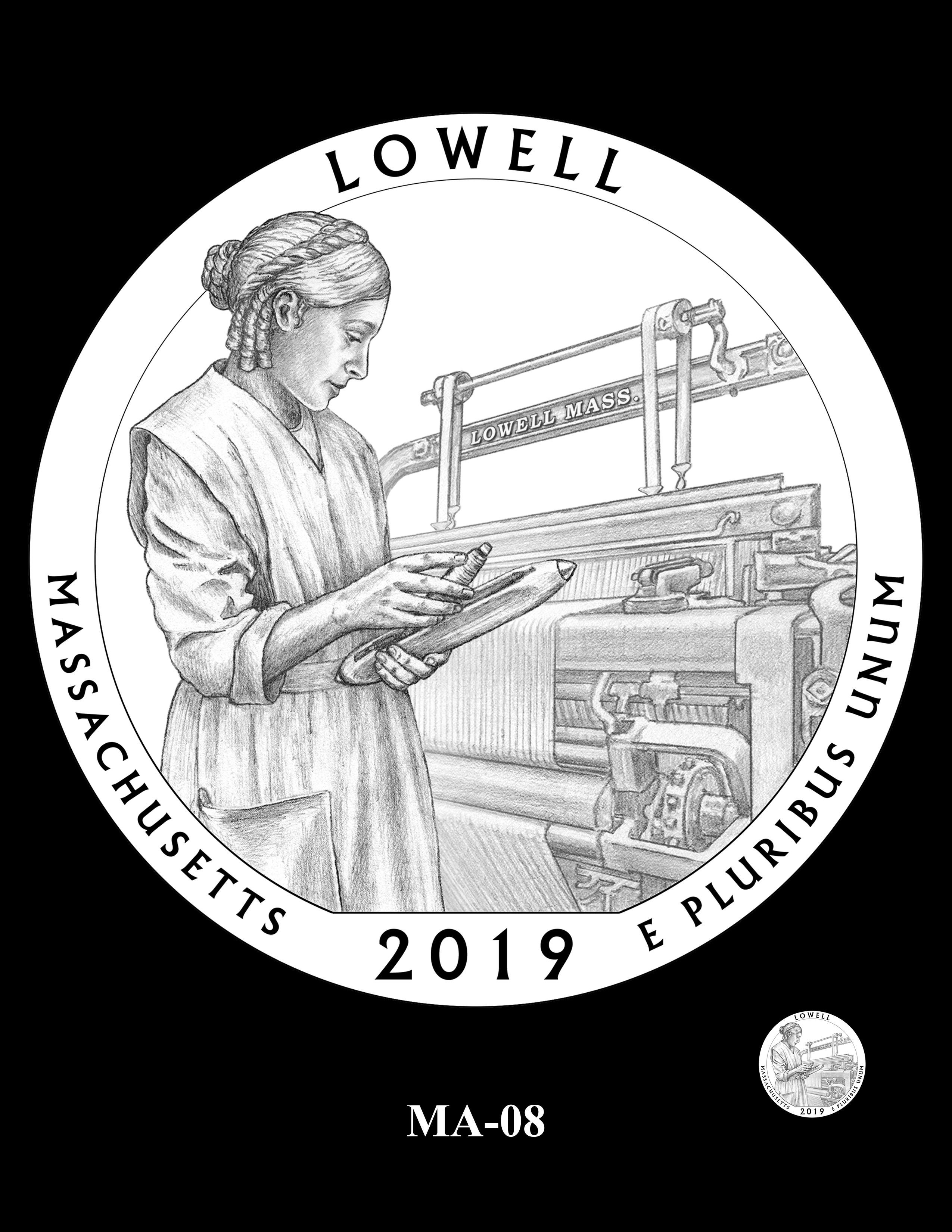 MA-08 -- 2019 America the Beautiful Quarters® Program