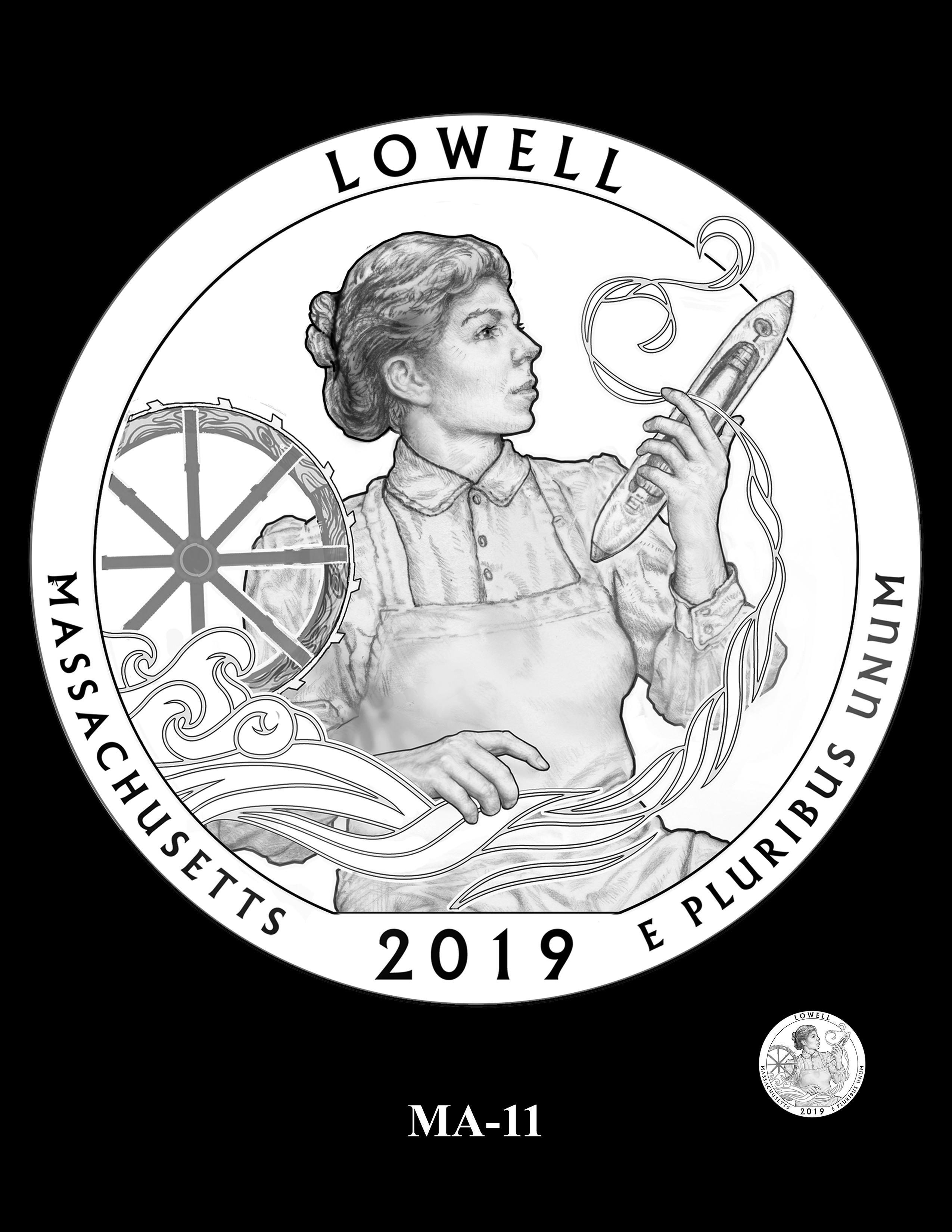 MA-11 -- 2019 America the Beautiful Quarters® Program