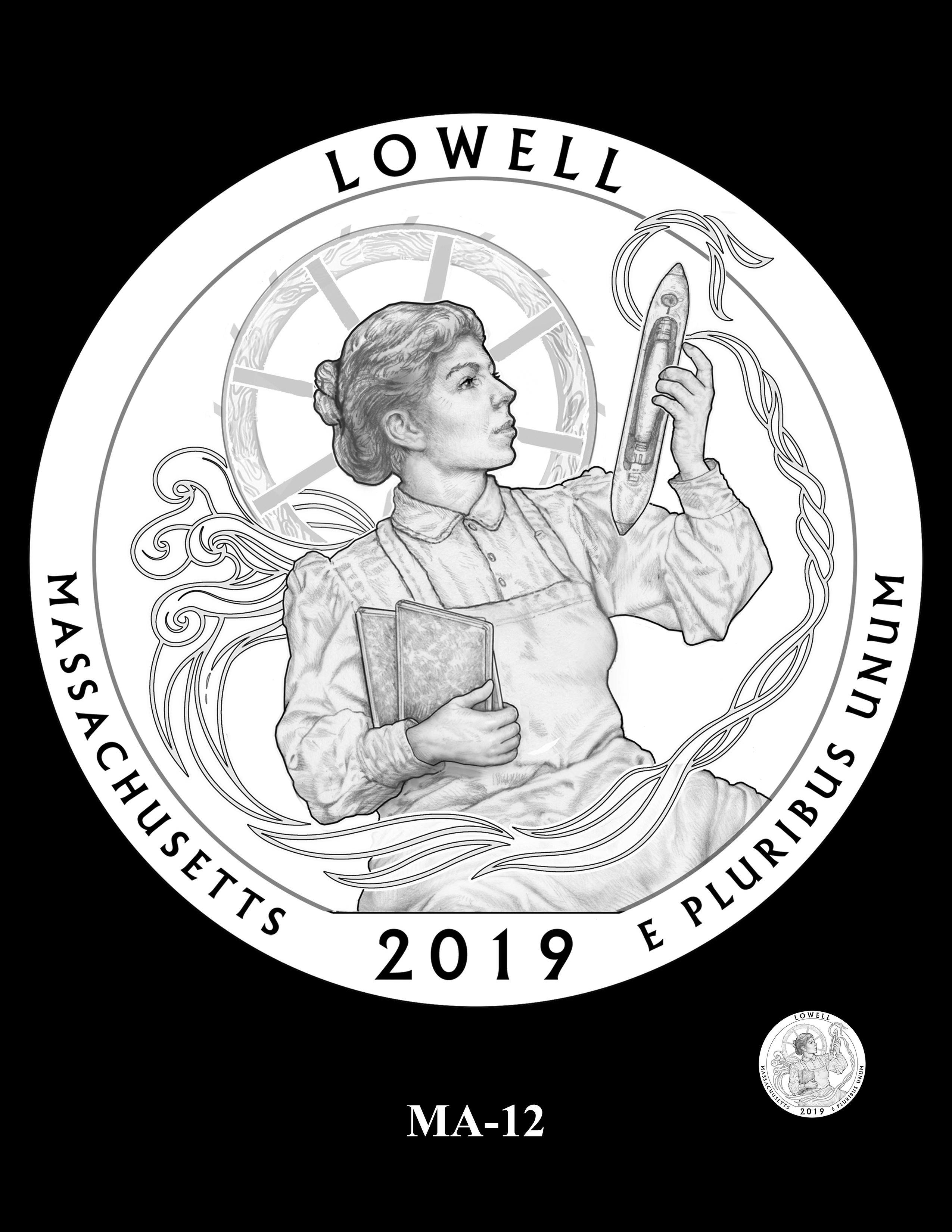 MA-12 -- 2019 America the Beautiful Quarters® Program