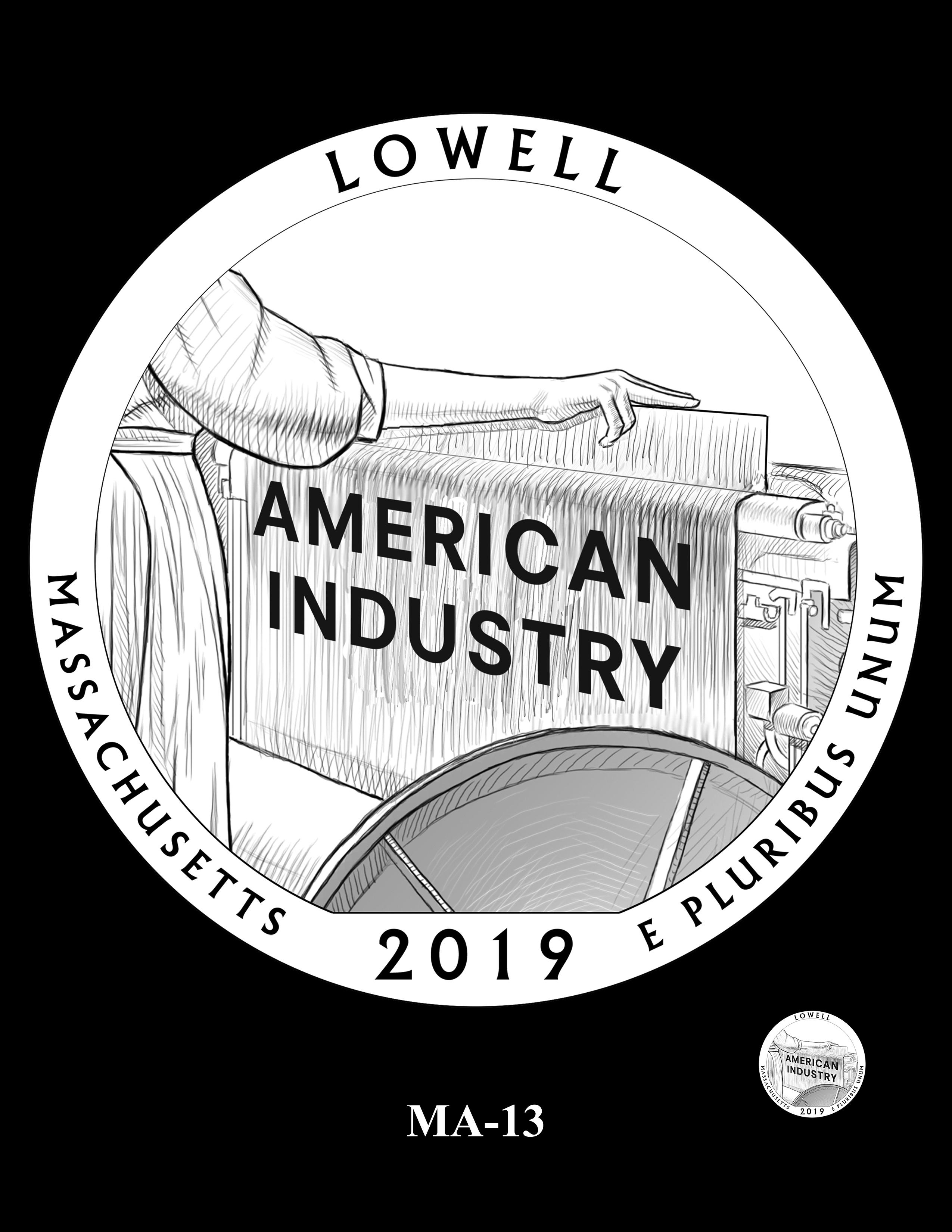 MA-13 -- 2019 America the Beautiful Quarters® Program