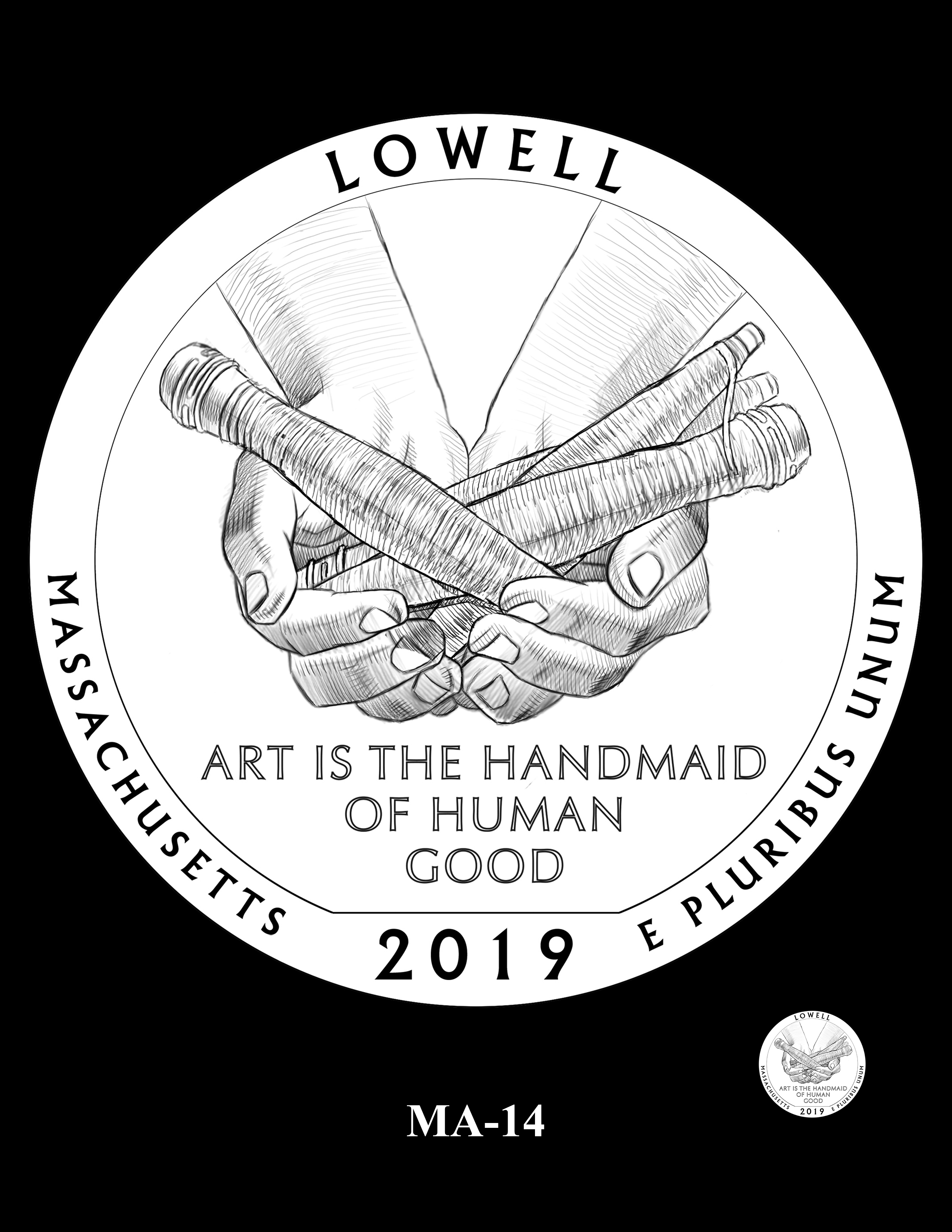 MA-14 -- 2019 America the Beautiful Quarters® Program