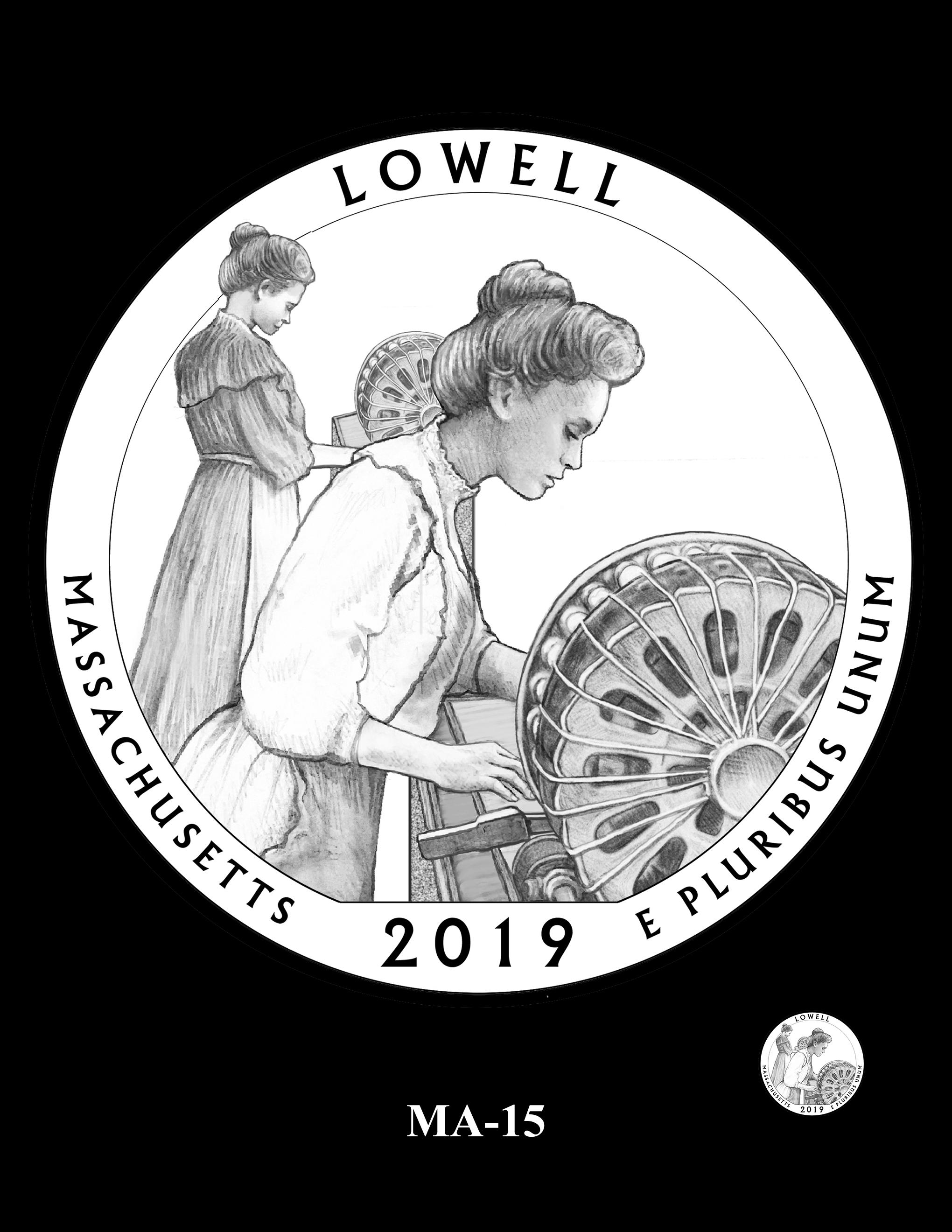 MA-15 -- 2019 America the Beautiful Quarters® Program