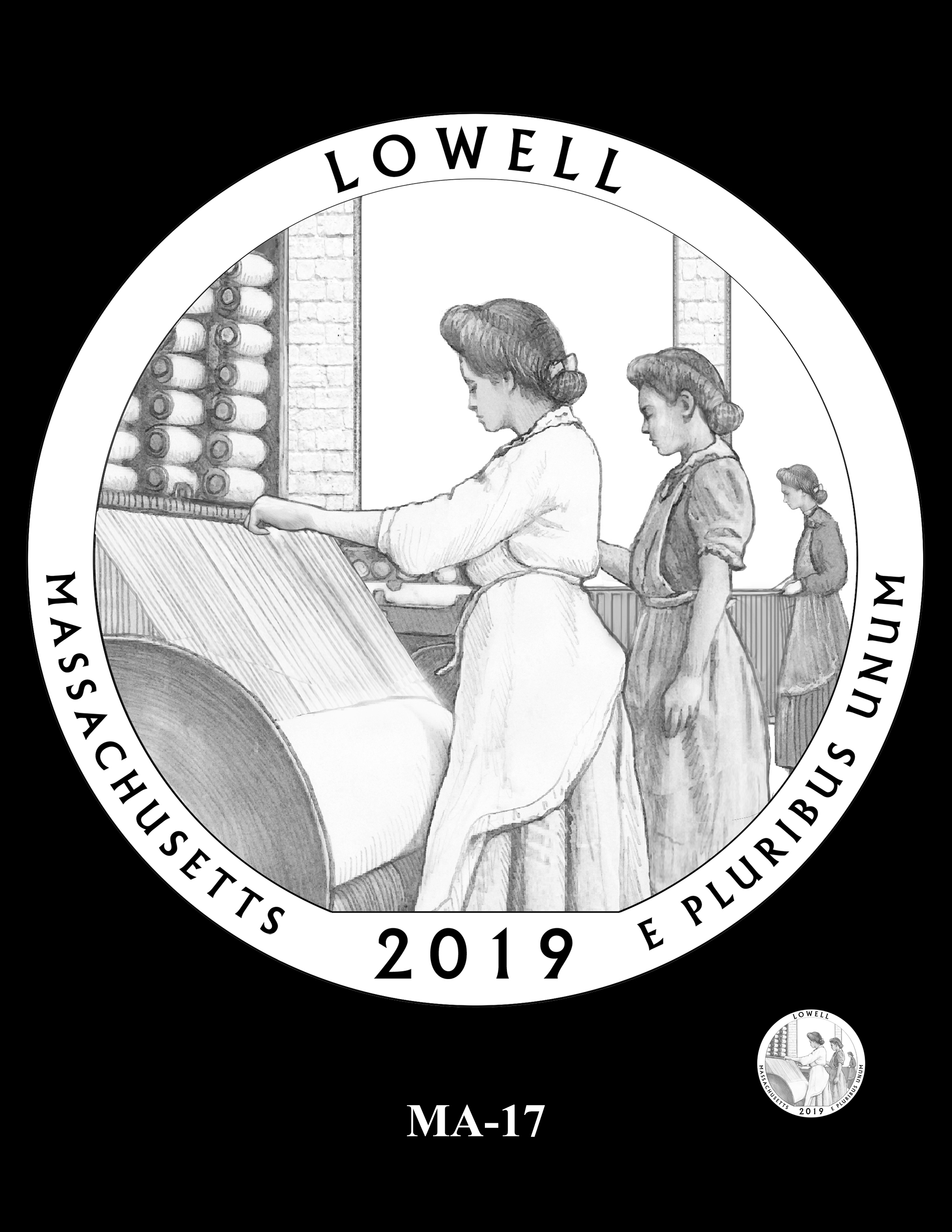 MA-17 -- 2019 America the Beautiful Quarters® Program