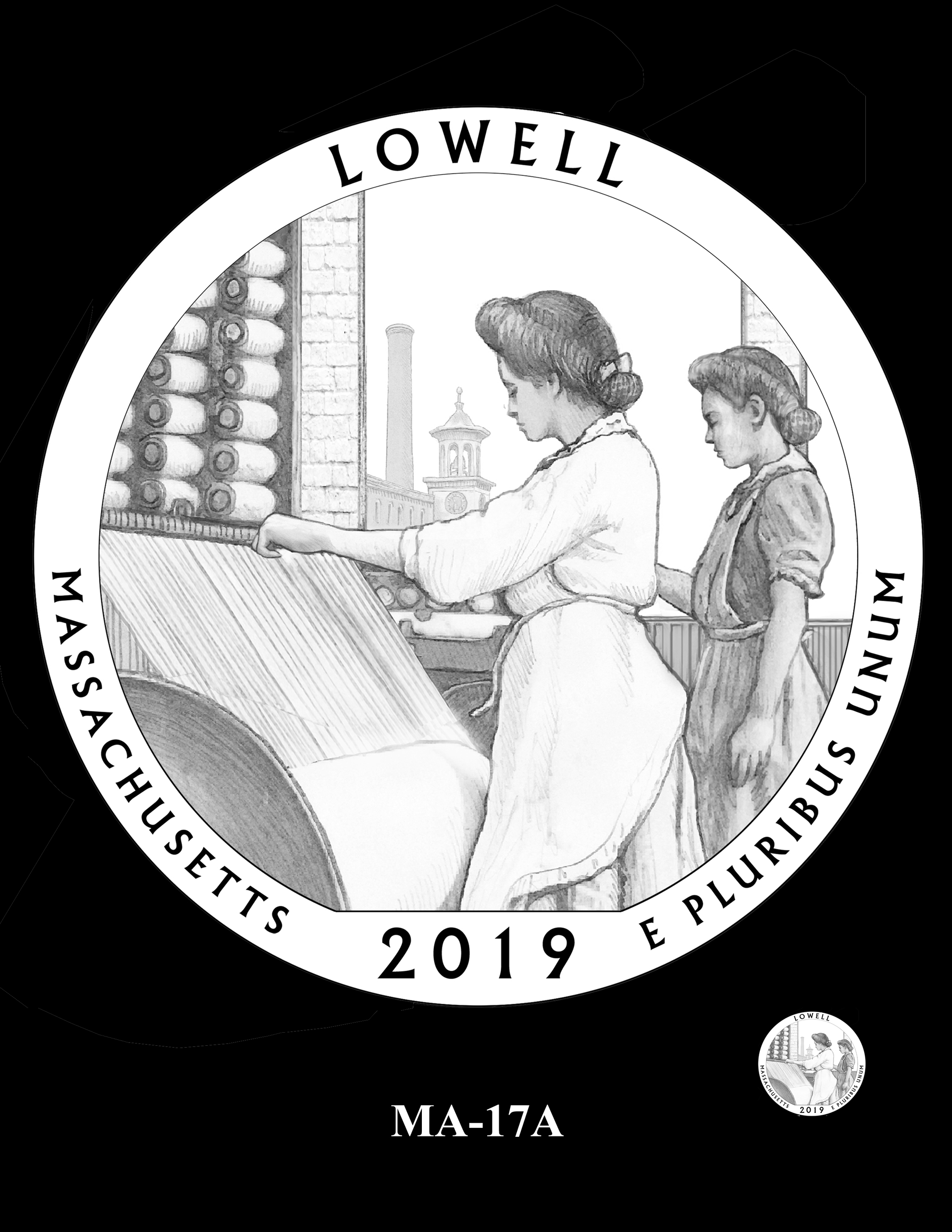 MA-17A -- 2019 America the Beautiful Quarters® Program