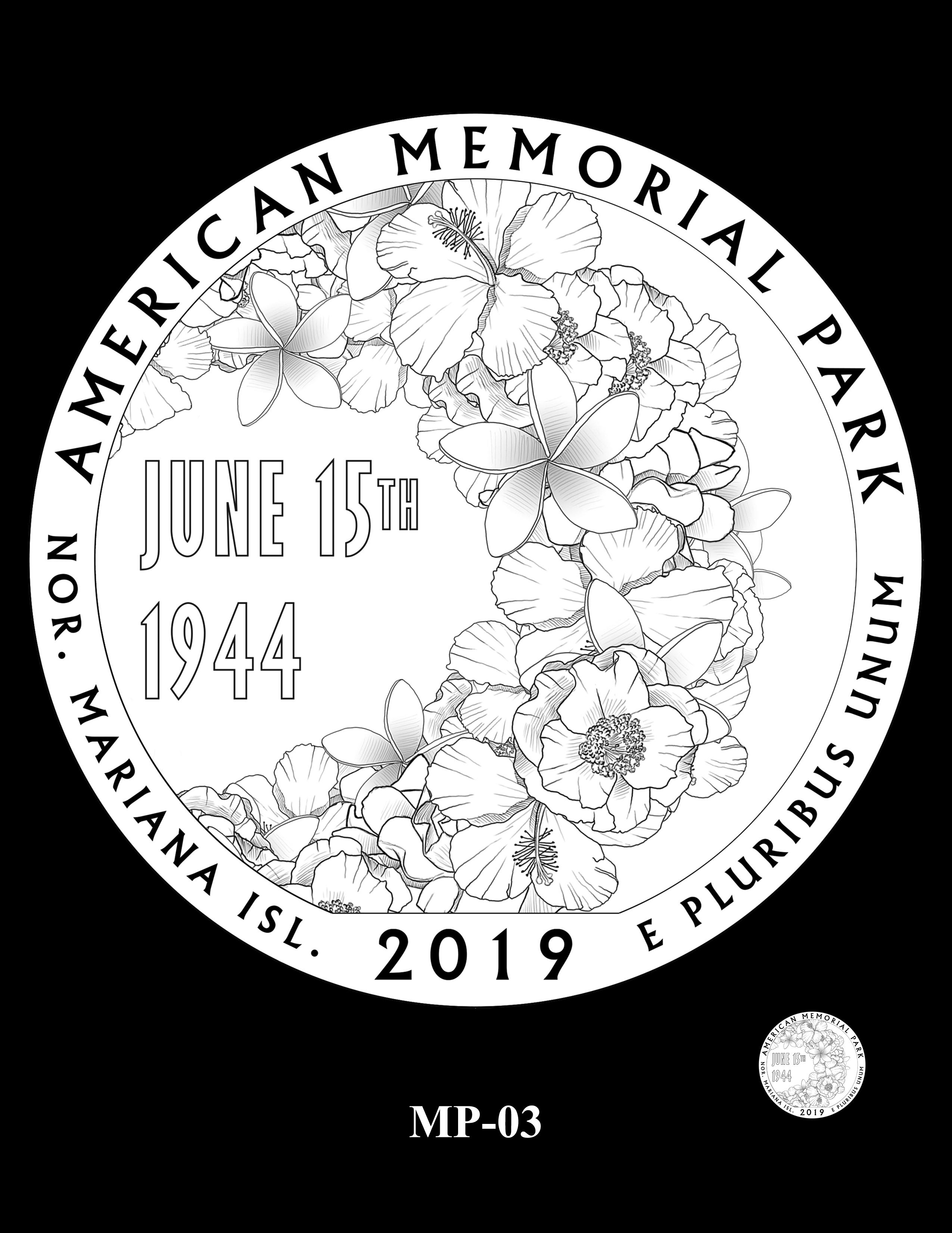 MP-03 -- 2019 America the Beautiful Quarters® Program
