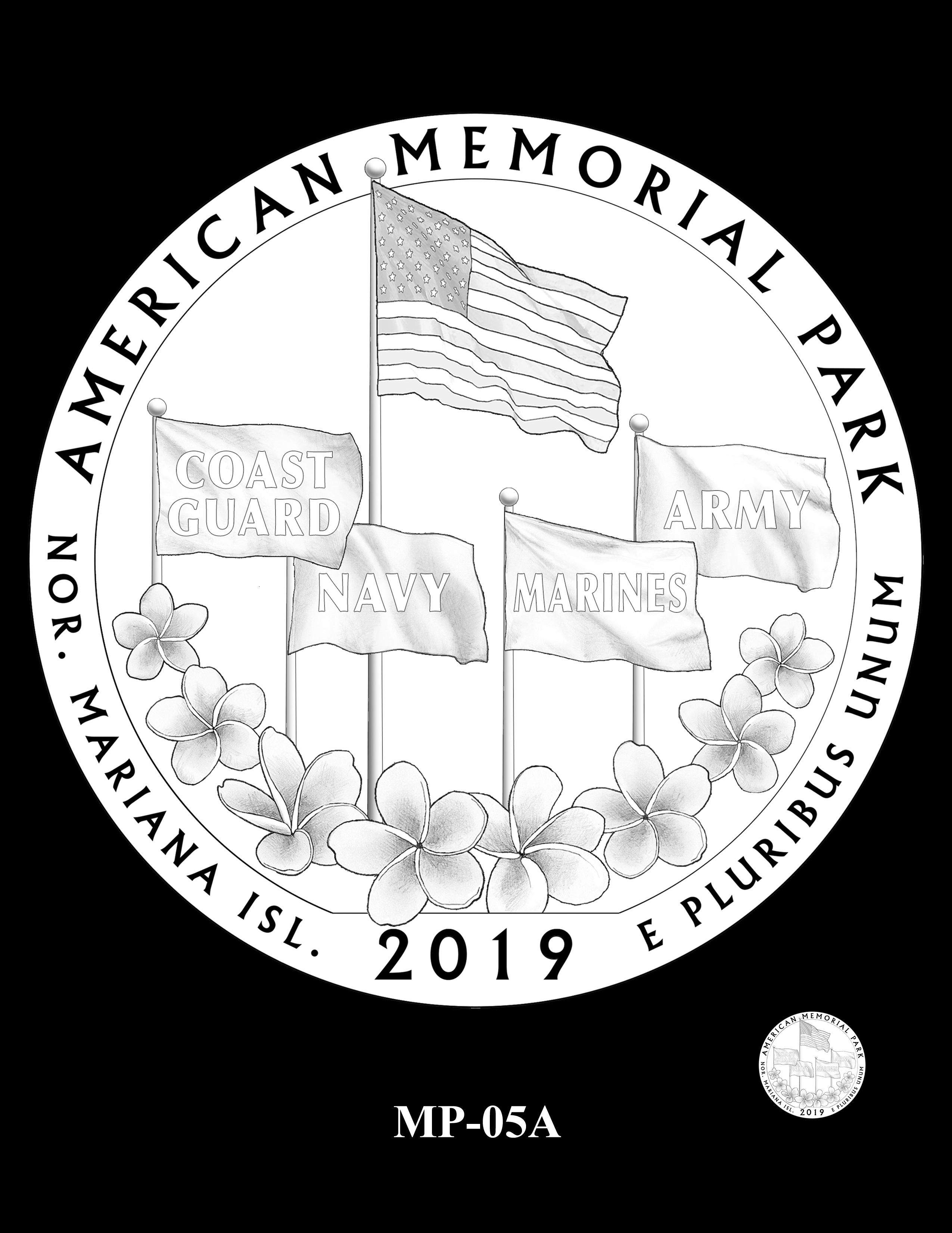 MP-05A -- 2019 America the Beautiful Quarters® Program