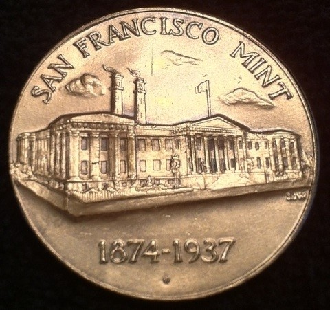 San Francisco Mint Medal obverse