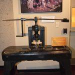Screw press at the Denver Mint