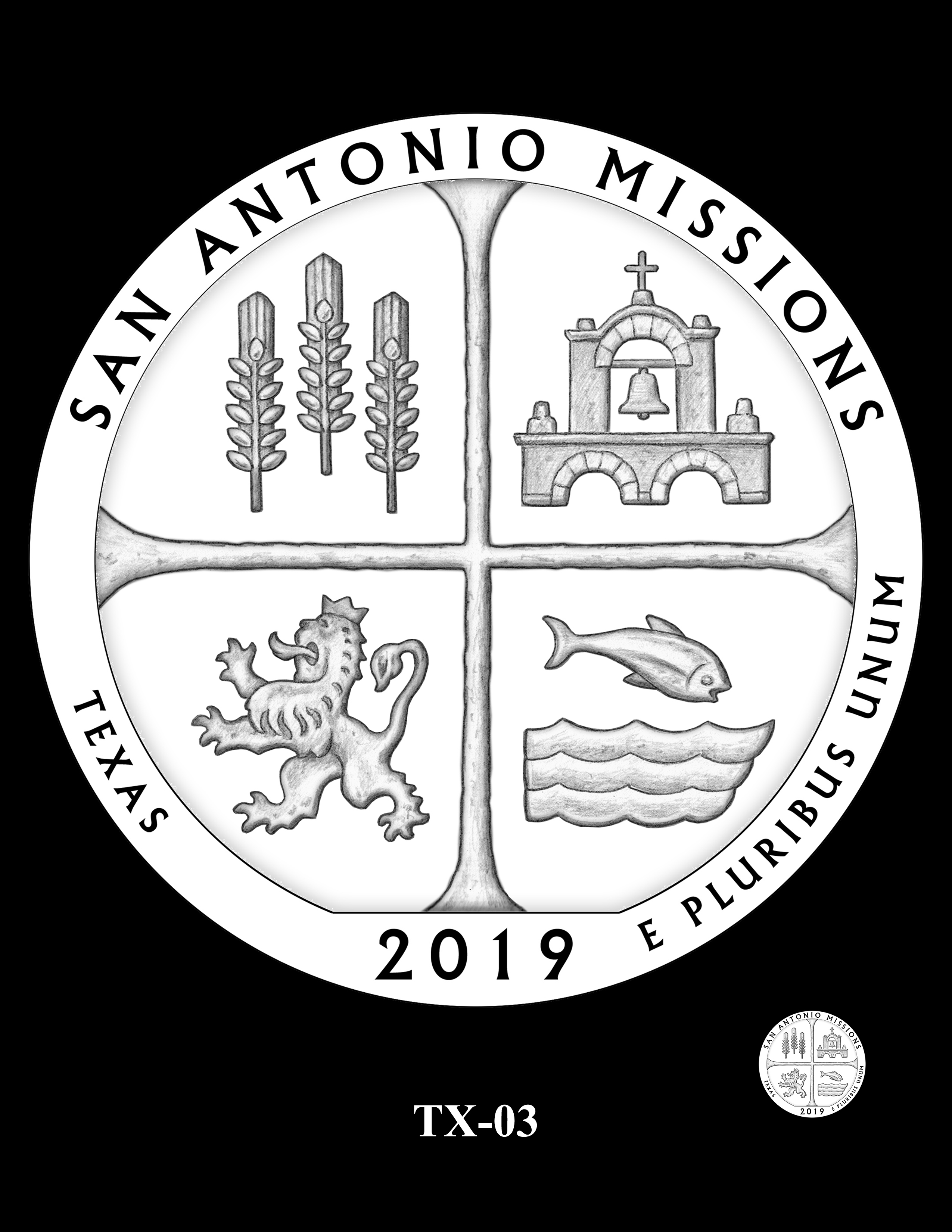 TX-03 -- 2019 America the Beautiful Quarters® Program