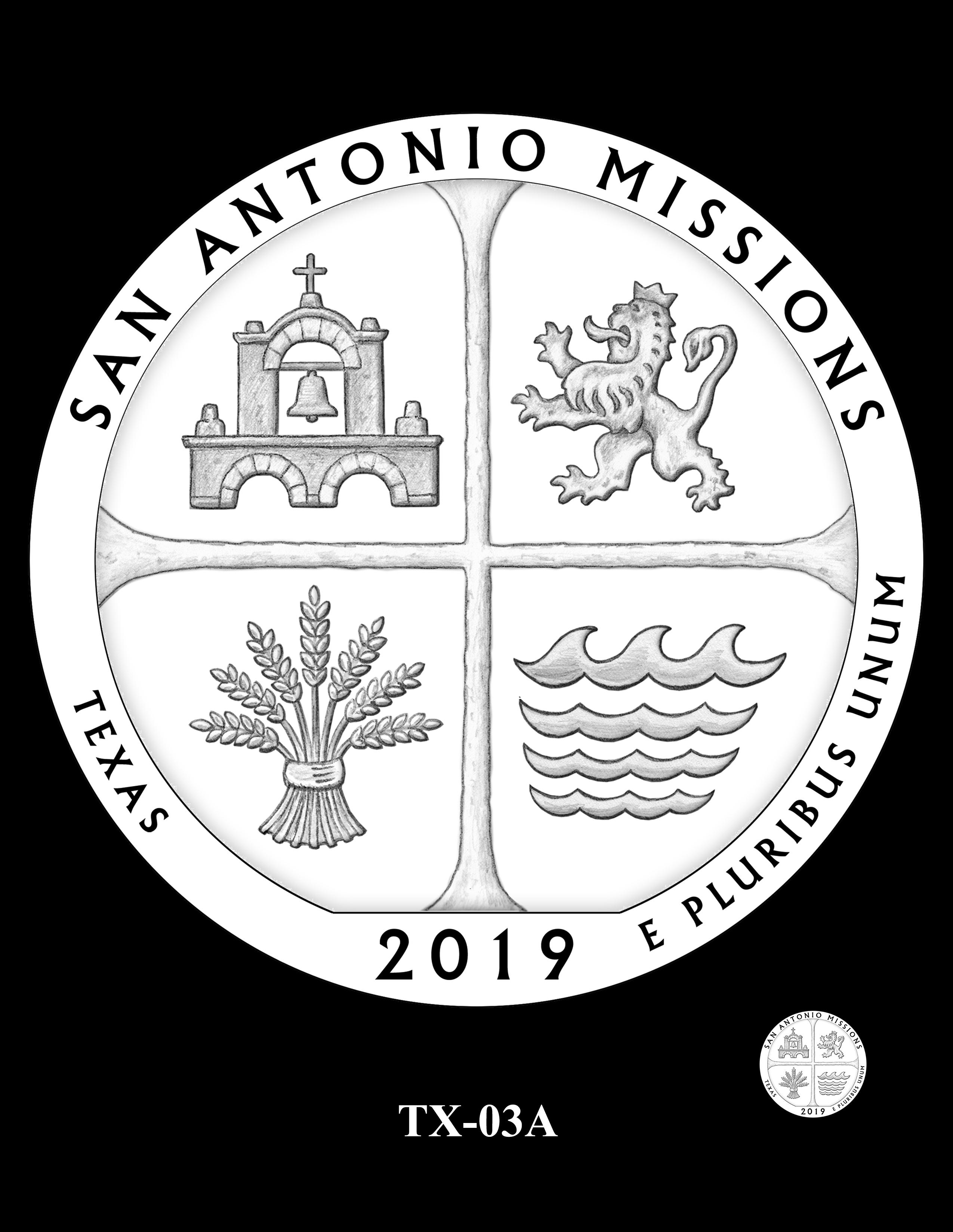 TX-03A -- 2019 America the Beautiful Quarters® Program