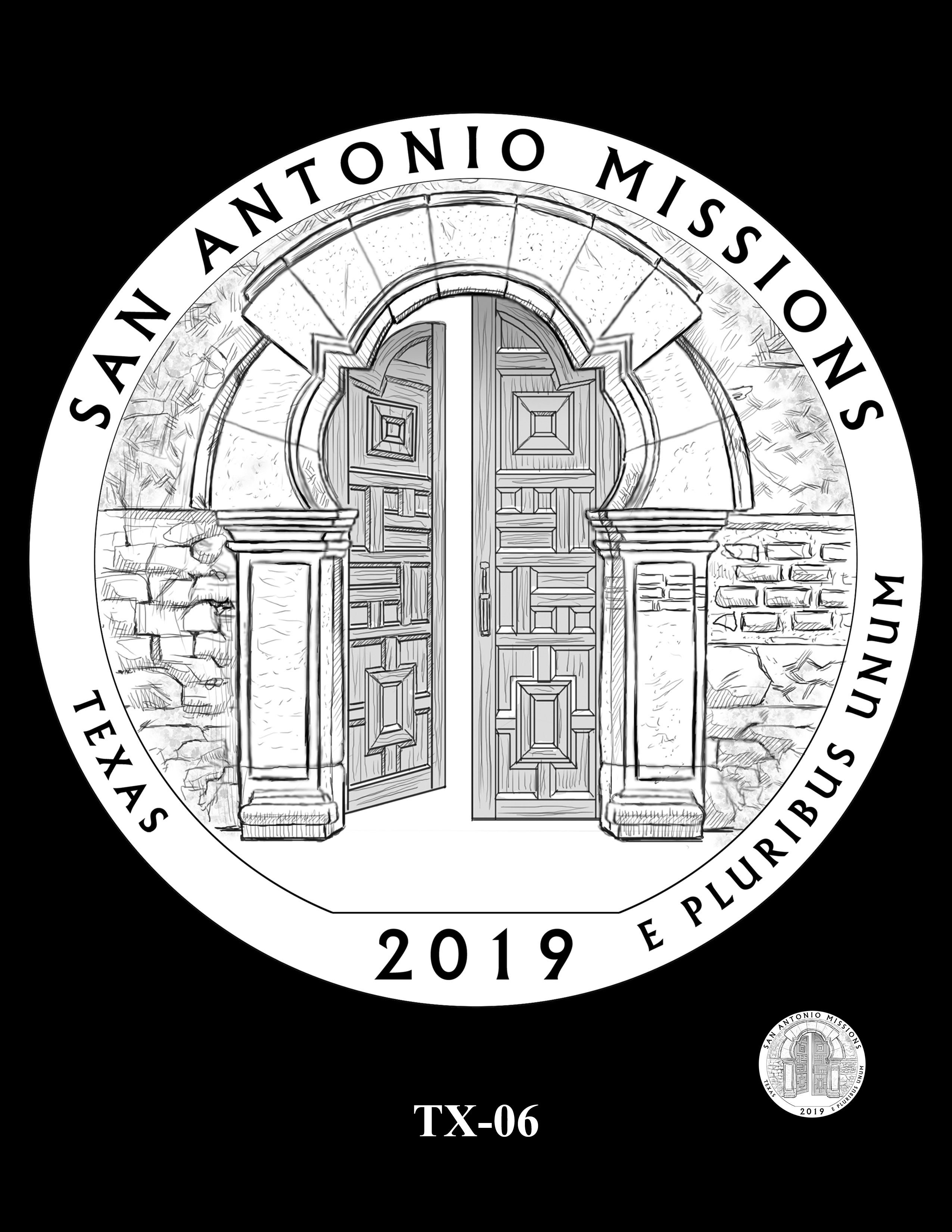 TX-06 -- 2019 America the Beautiful Quarters® Program