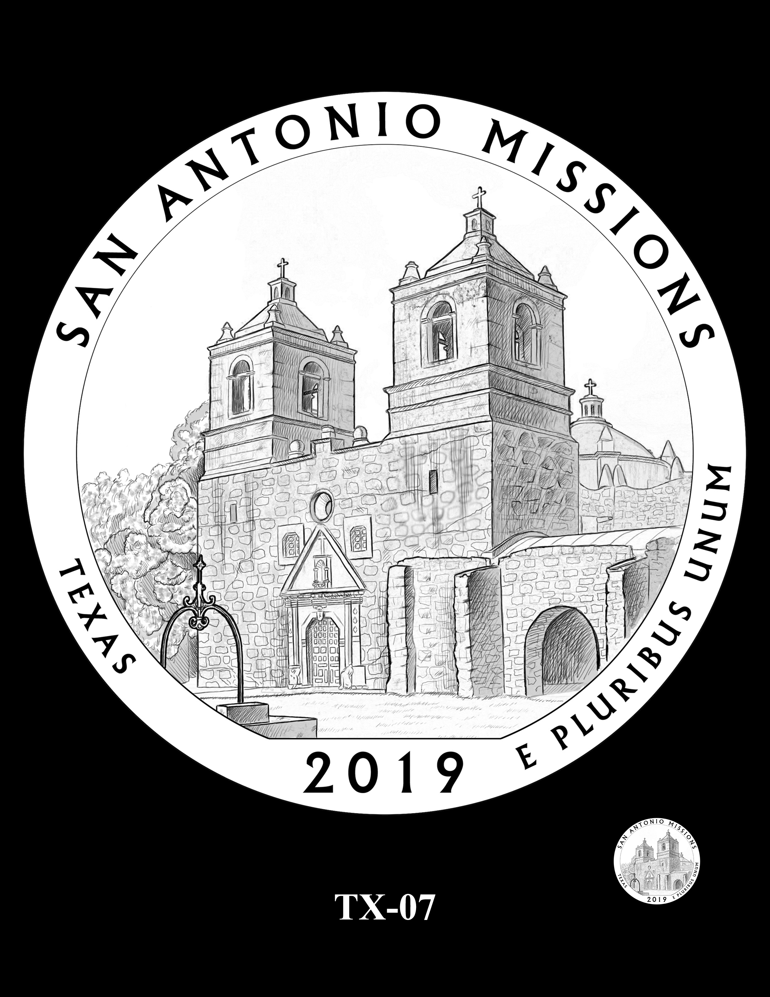 TX-07 -- 2019 America the Beautiful Quarters® Program