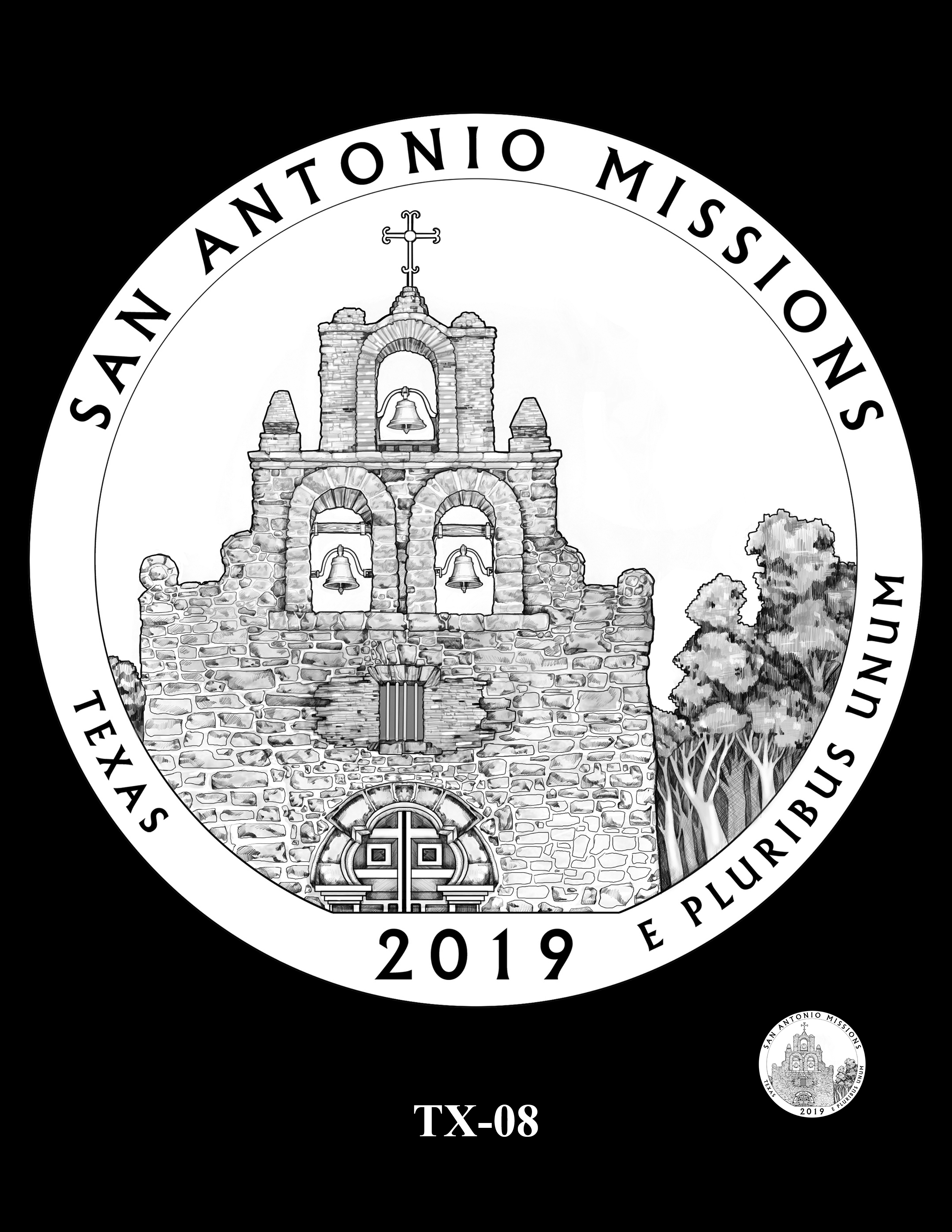 TX-08 -- 2019 America the Beautiful Quarters® Program