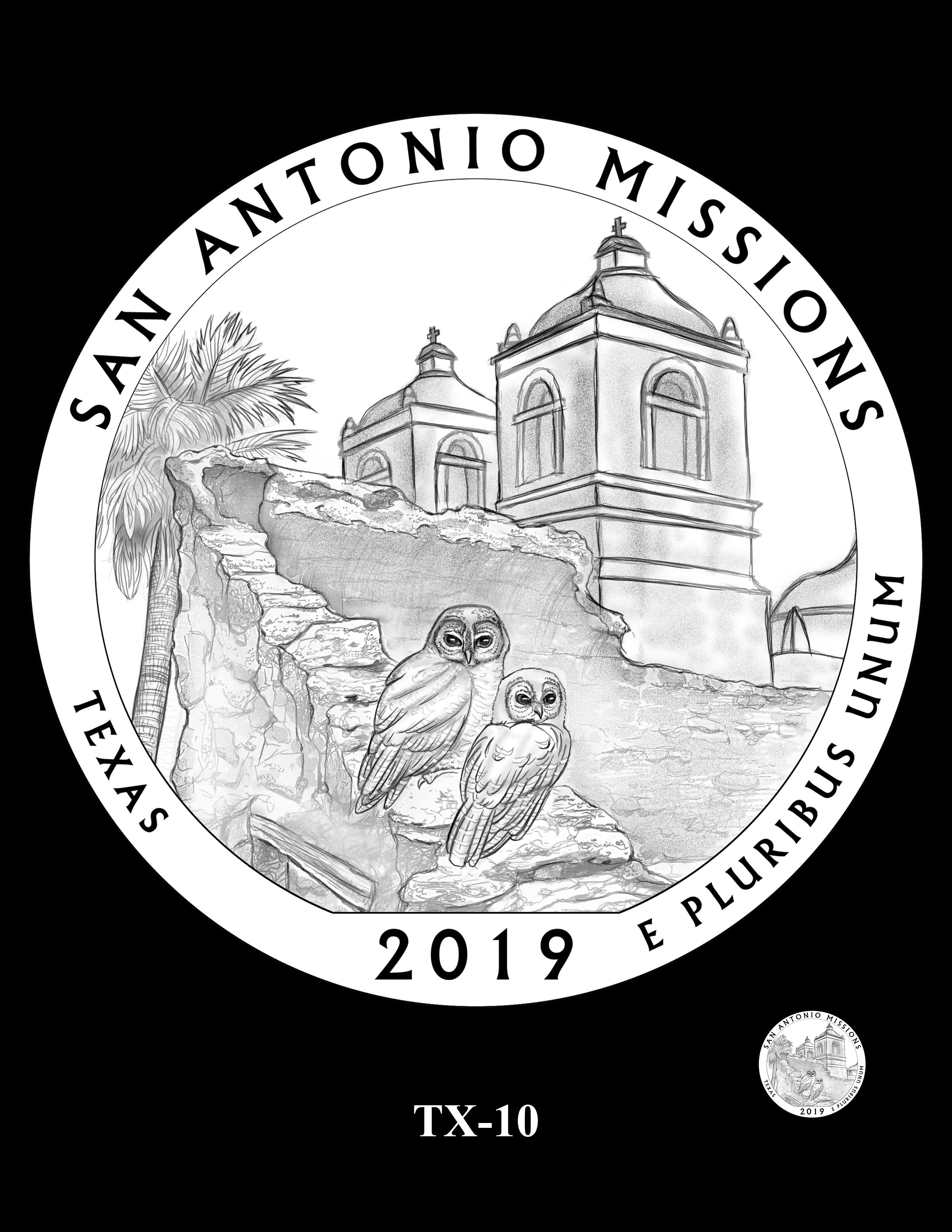 TX-10 -- 2019 America the Beautiful Quarters® Program