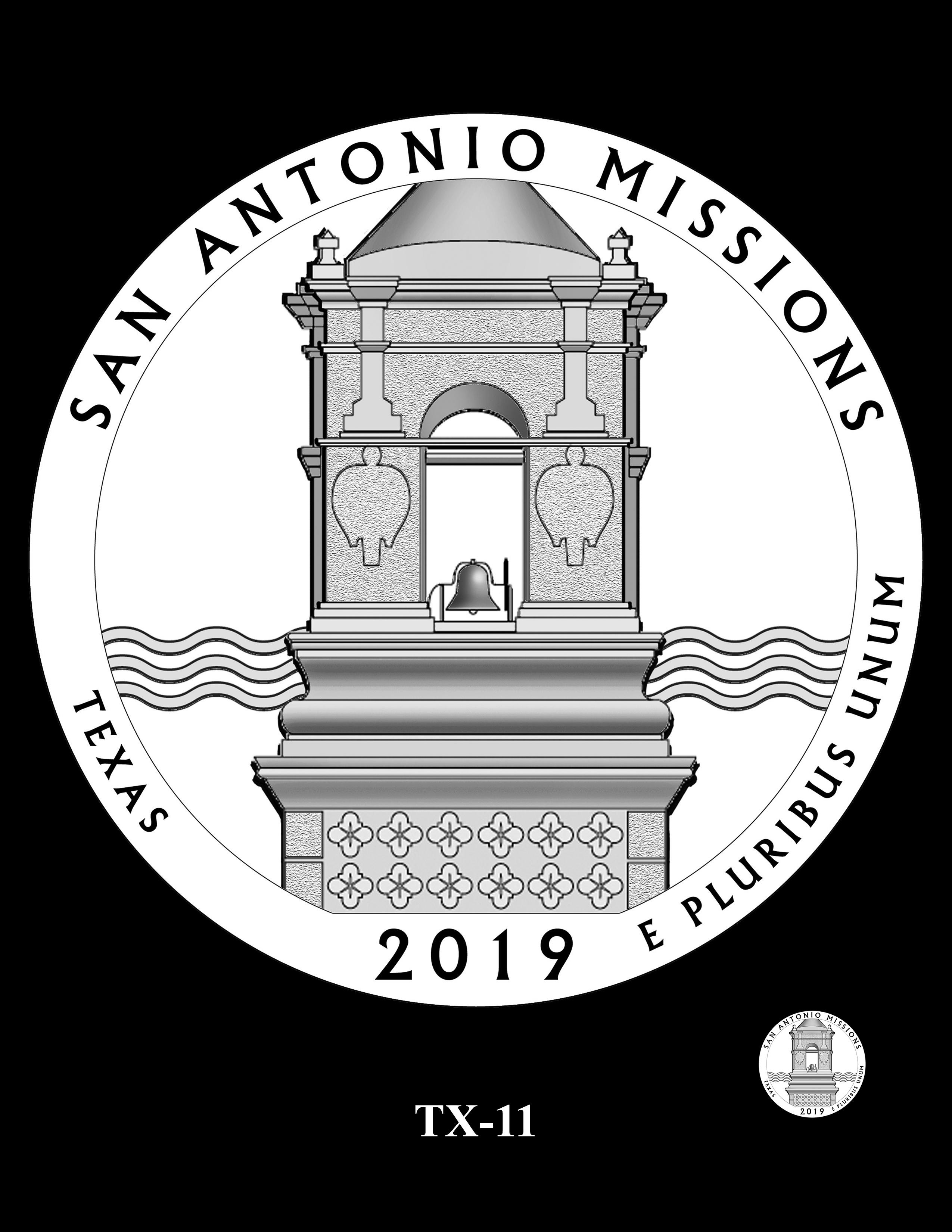 TX-11 -- 2019 America the Beautiful Quarters® Program