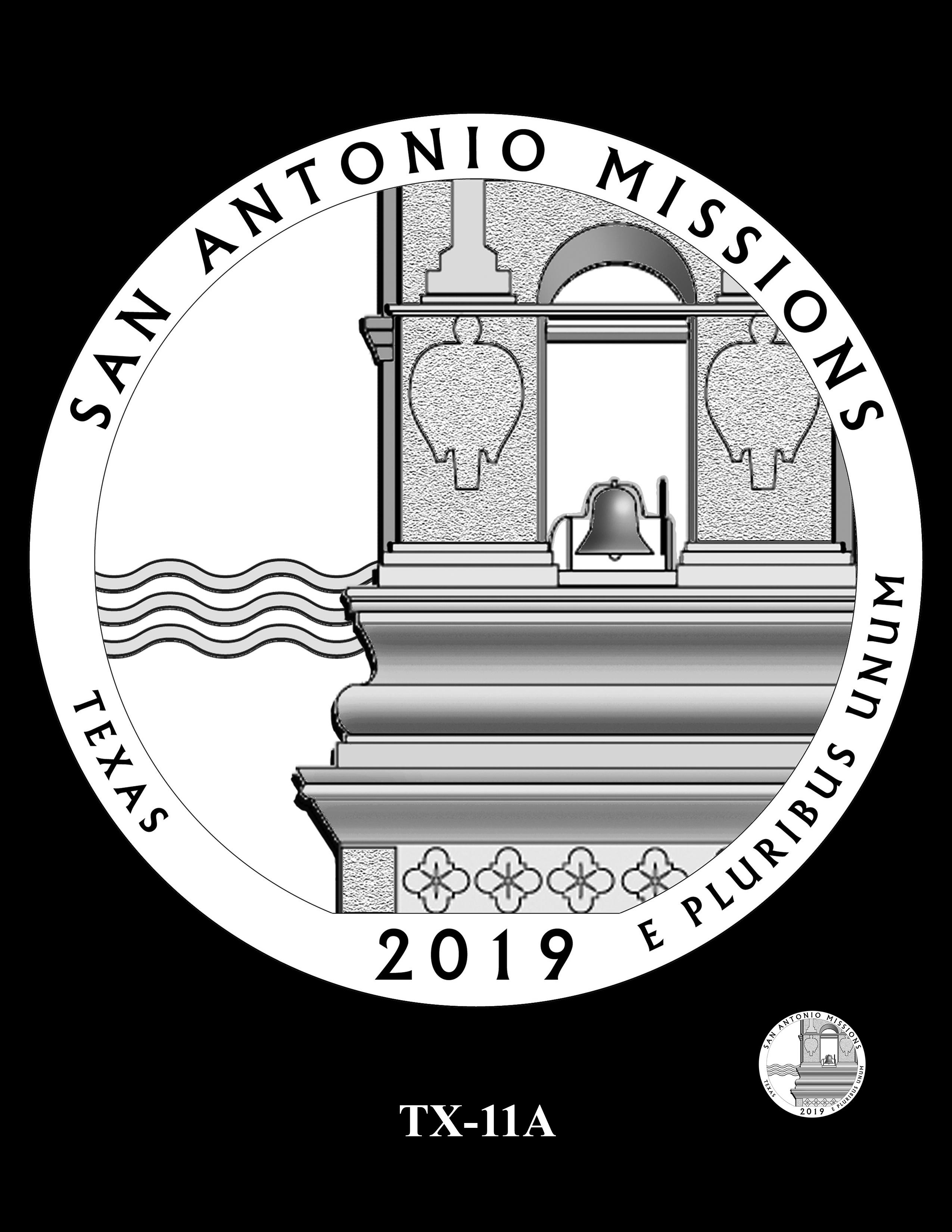 TX-11A -- 2019 America the Beautiful Quarters® Program