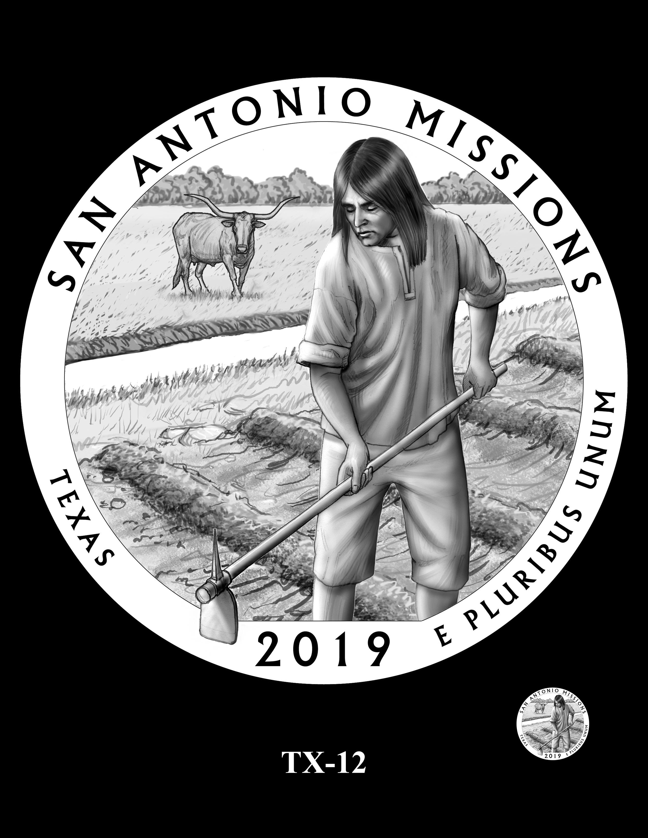TX-12 -- 2019 America the Beautiful Quarters® Program