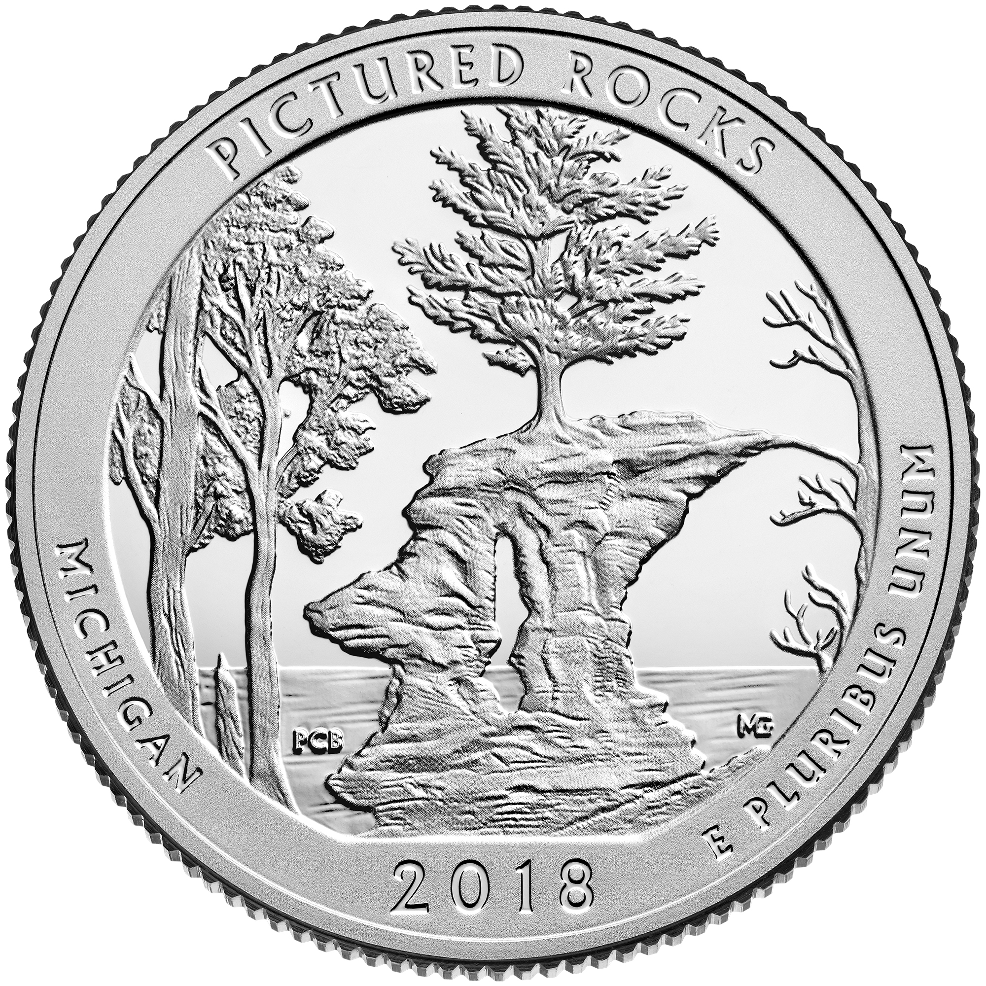 2018 : Pictured Rocks National Lakeshore Quarter Officially Launched