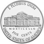 2018 Jefferson Nickel Proof Reverse