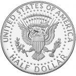 2018 Kennedy Half Dollar Proof Reverse
