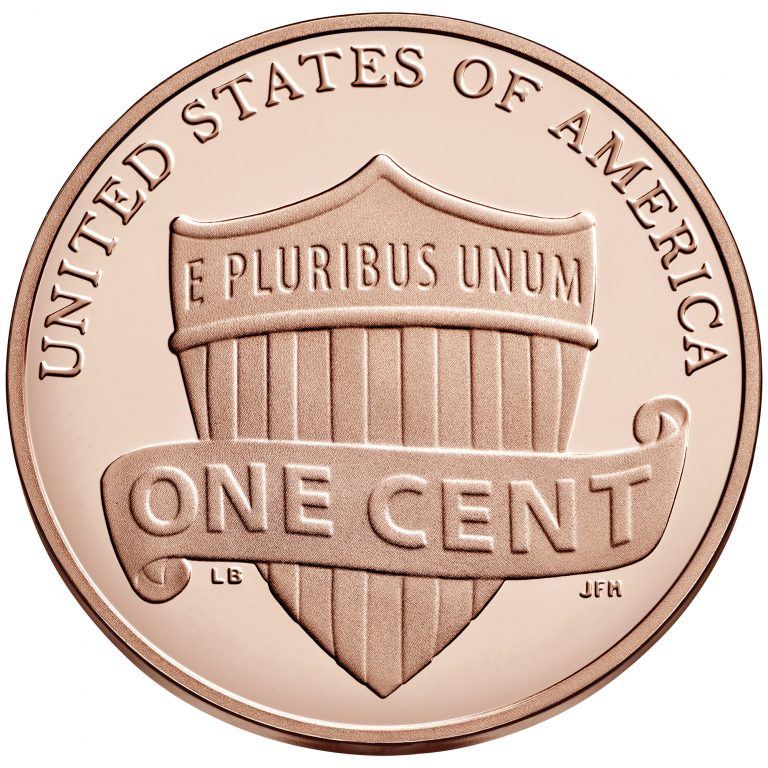 2018 Lincoln Penny Proof Reverse