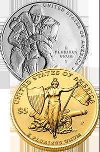 2011 Medal of Honor Commemorative Coin Program Reverses
