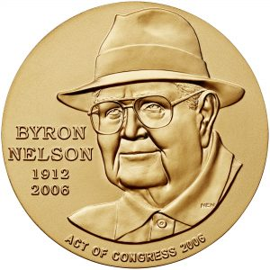 2006 Byron Nelson Bronze Medal Obverse