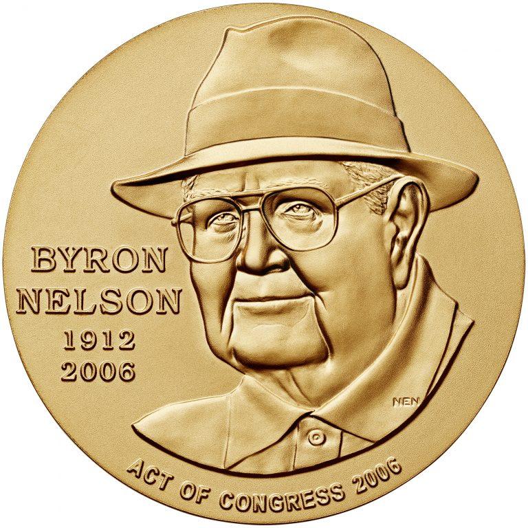 2006 Byron Nelson Bronze Medal Obverse