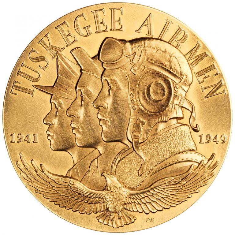2006 Tuskegee Airmen Bronze Medal Obverse