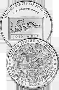 2006 Benjamin Franklin Commemorative Coin Program Reverses
