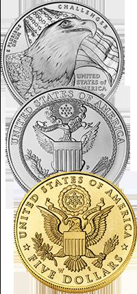 2008 Bald Eagle Commemorative Coin Program Reverses
